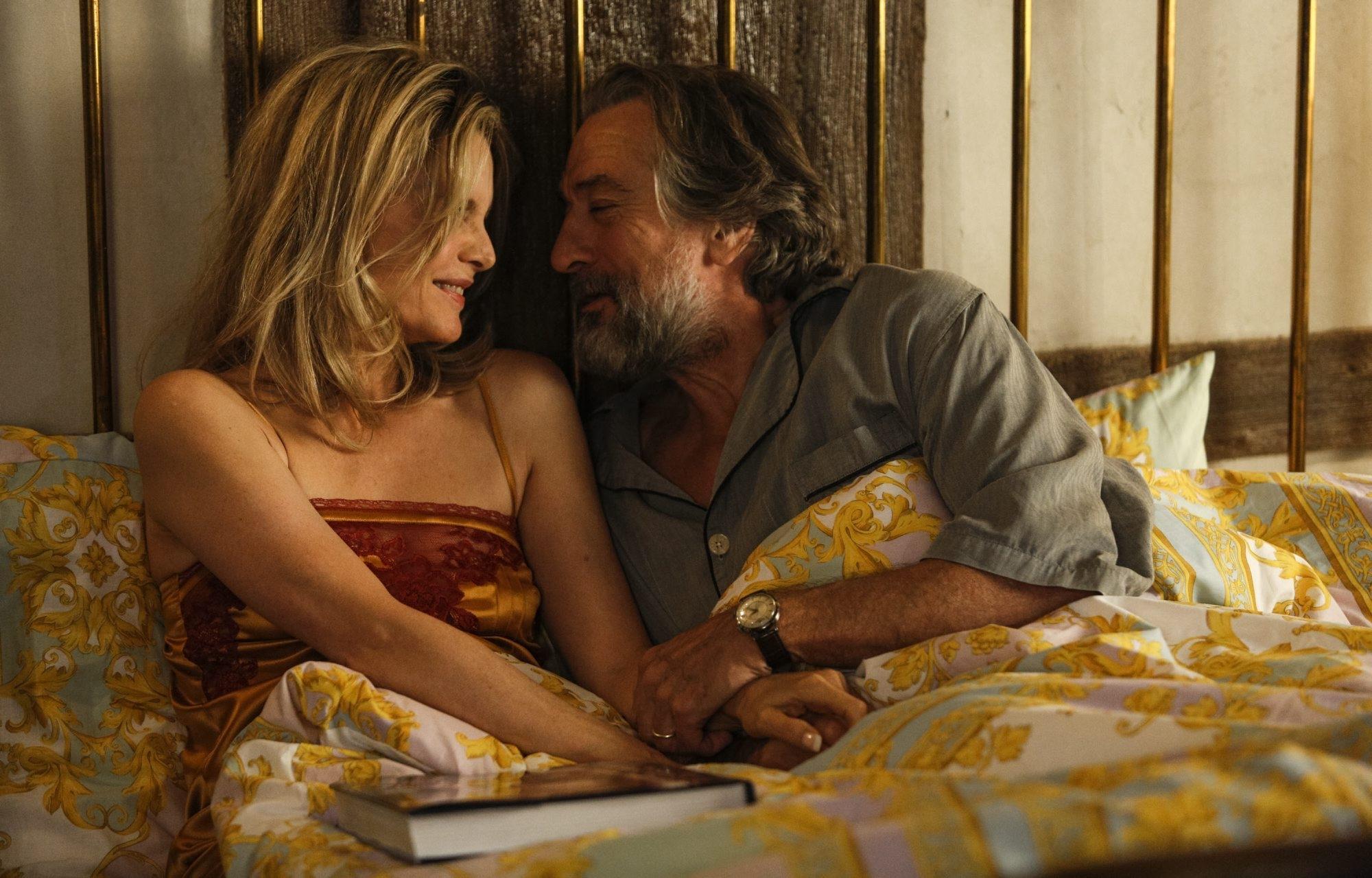 "Michelle Pfeiffer and Robert DeNiro star in ""The Family."""