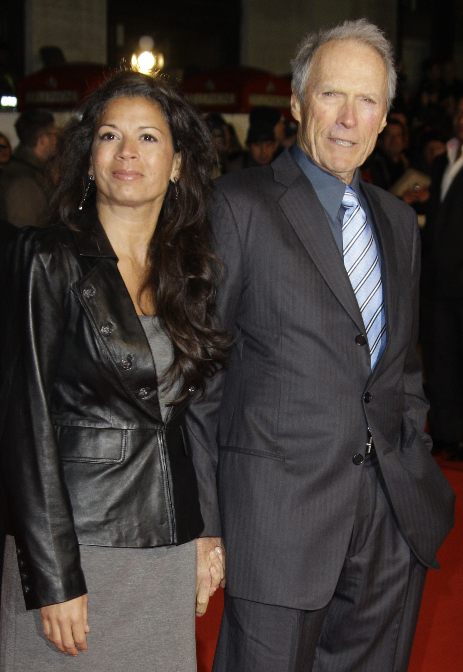 Dina Eastwood, left, has filed for a legal separation from actor and director Clint Eastwood.