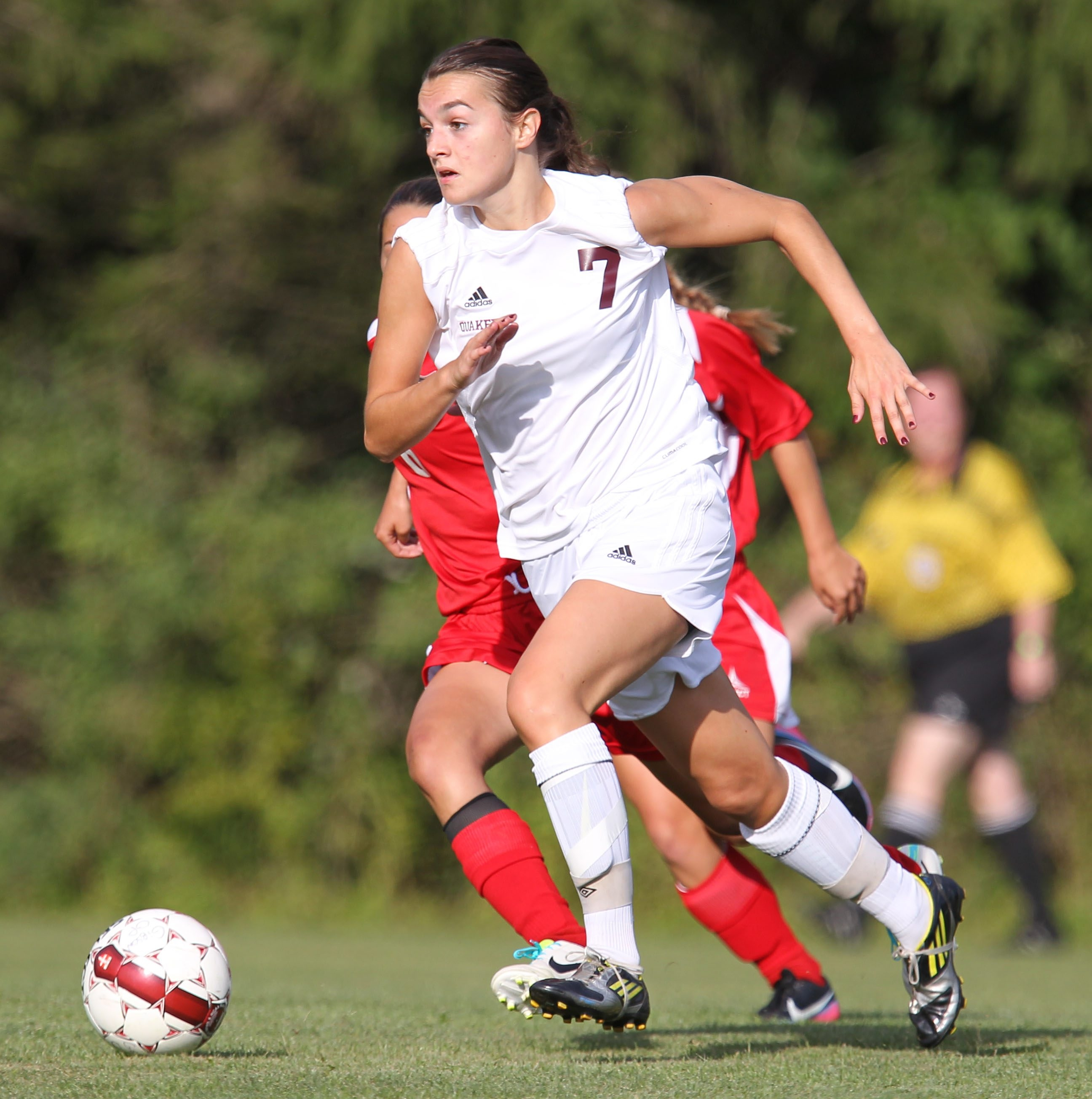 Versatile Emma Saul is one of the more experienced players for Orchard Park.