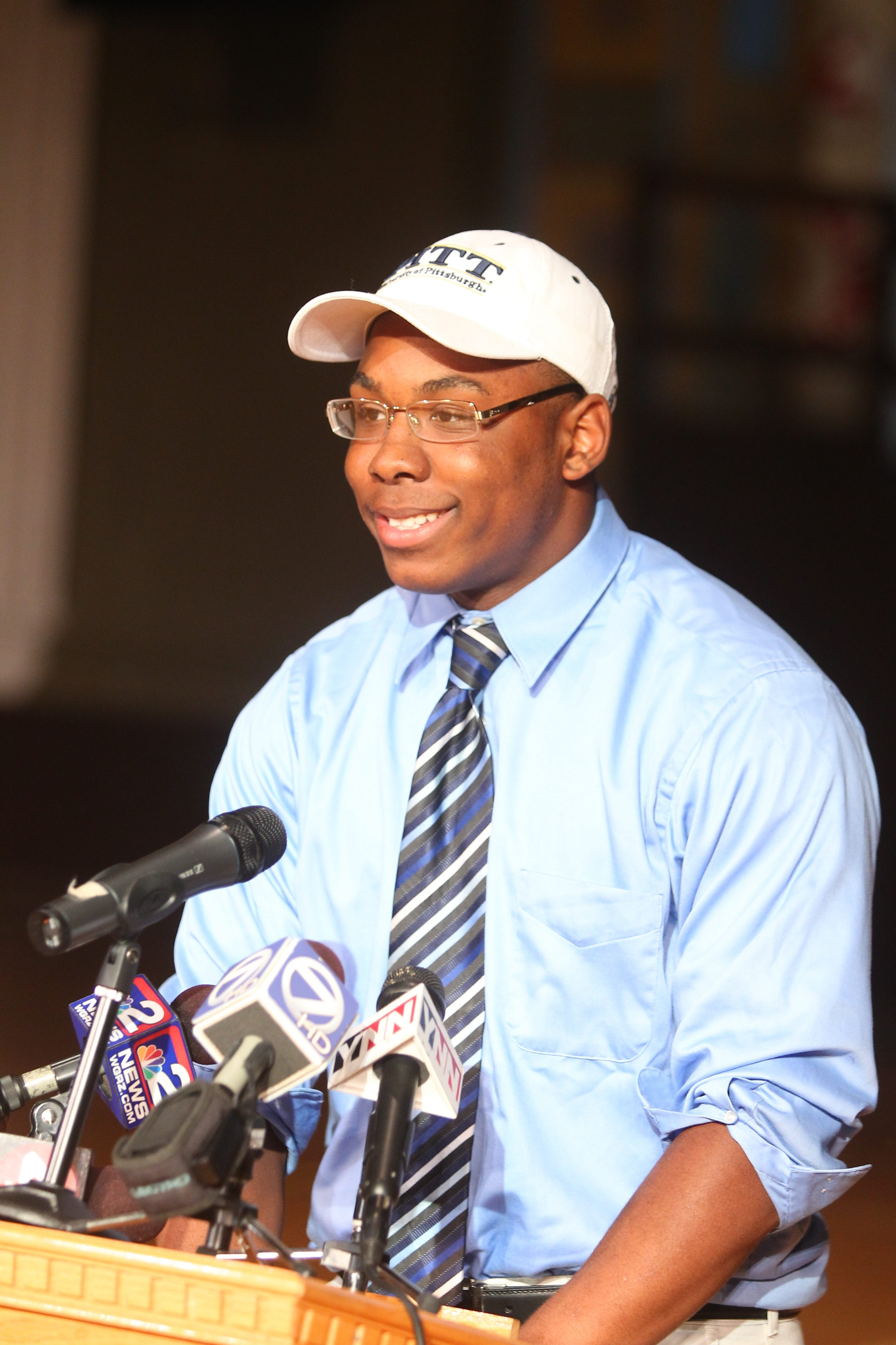 Qadree Ollison was courted by 15 colleges.