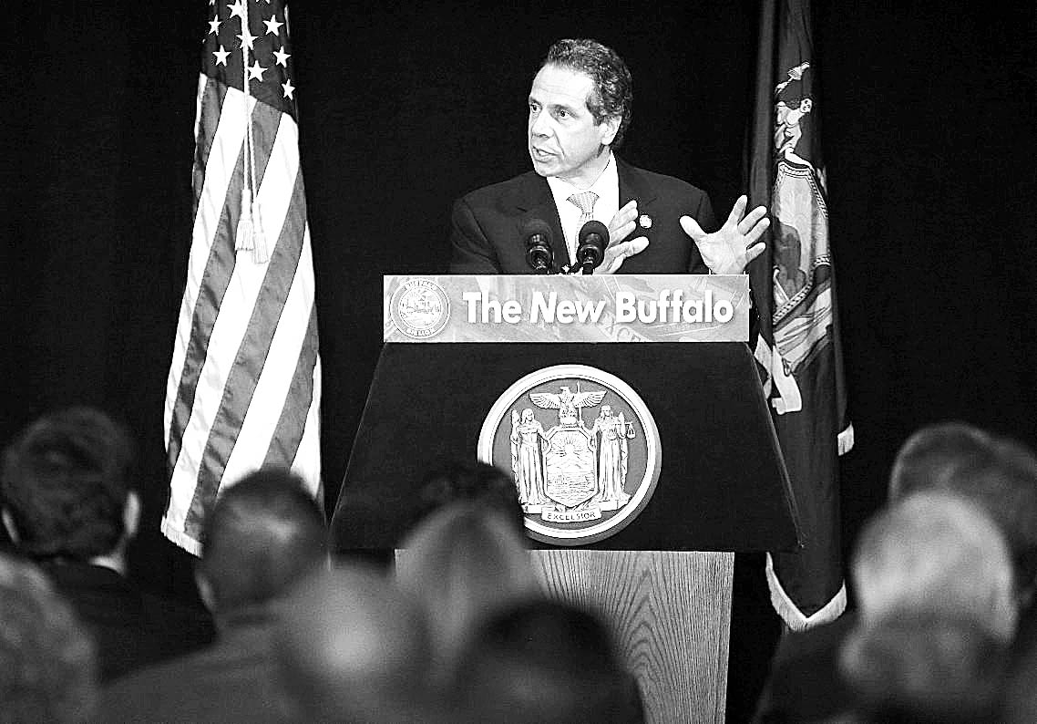 "Gov. Andrew M. Cuomo said: ""What I'm saying on education is, failing schools are not acceptable. Period. It has to end, and it has to end now."" (Buffalo News file photo)"