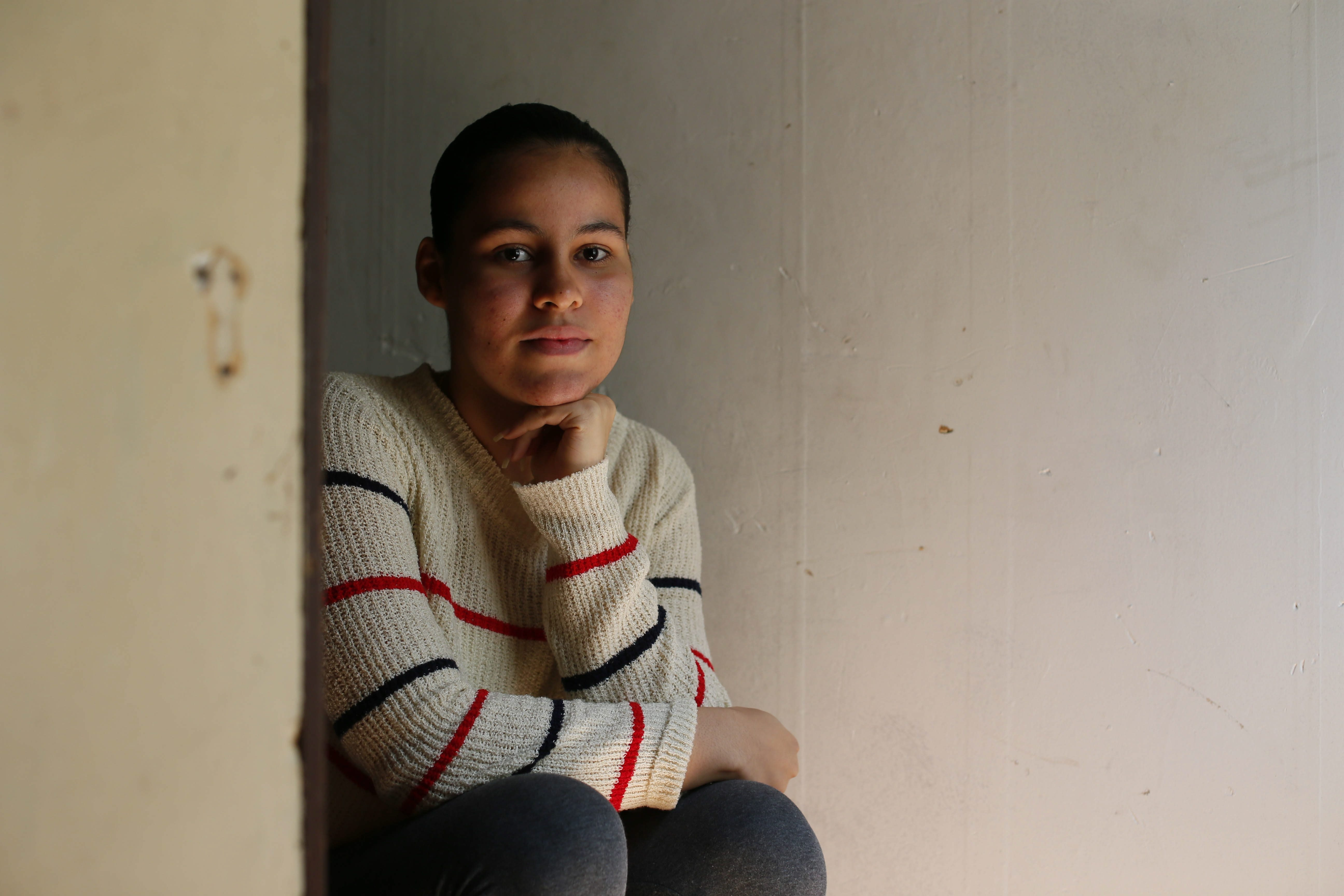 """""""Everybody spoke English, and I didn't know that much. It's hard because everyone looks at you like, 'What are you saying?' You feel rejected."""" Elisandra Mercado, Lafayette student who moved here from Puerto Rico when she was 11"""