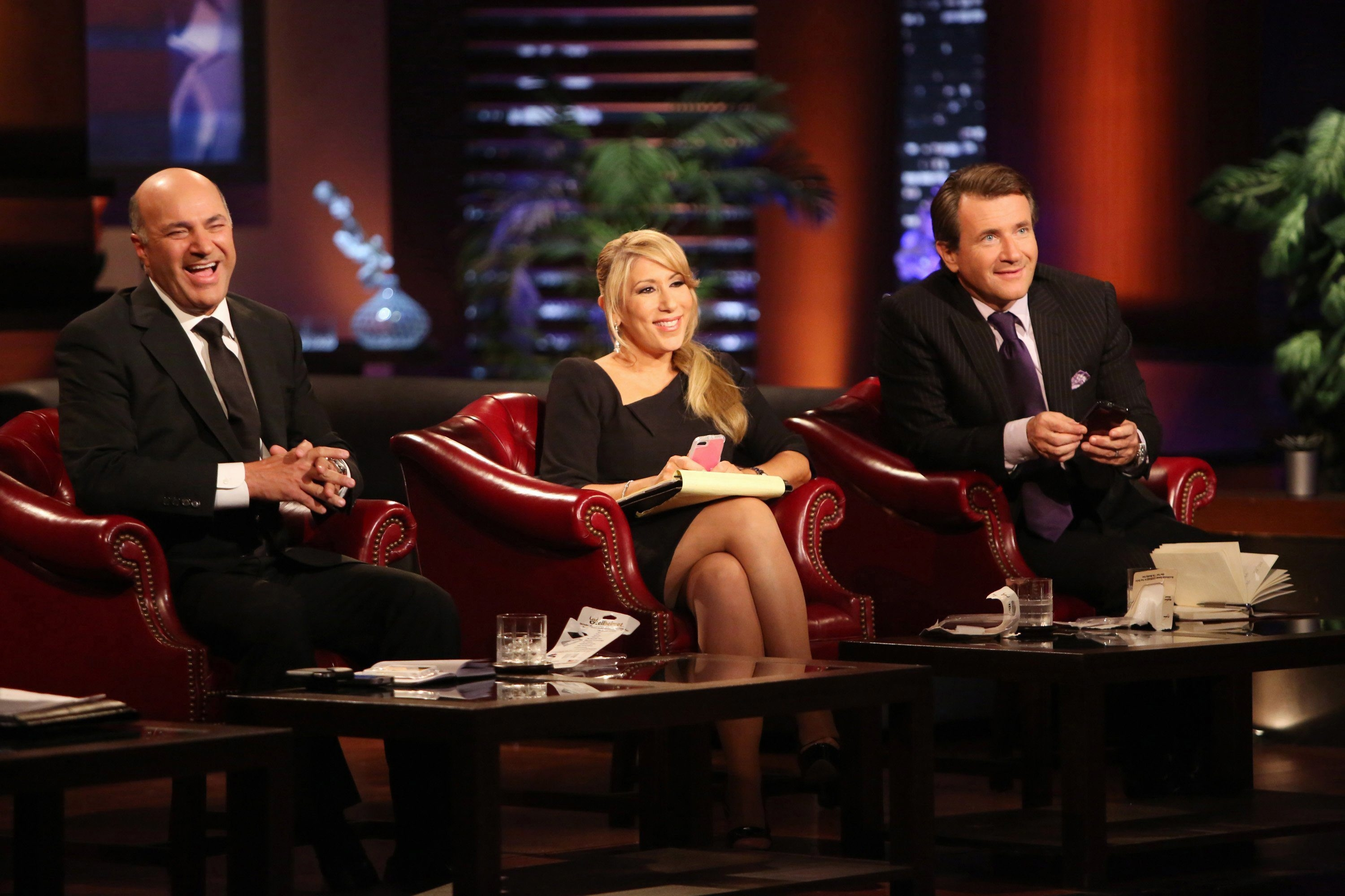 "From left, Kevin O'Leary, Lori Greiner and Robert Herjavec of ABC's ""Shark Tank,"" which returns for a new season Sept. 20."
