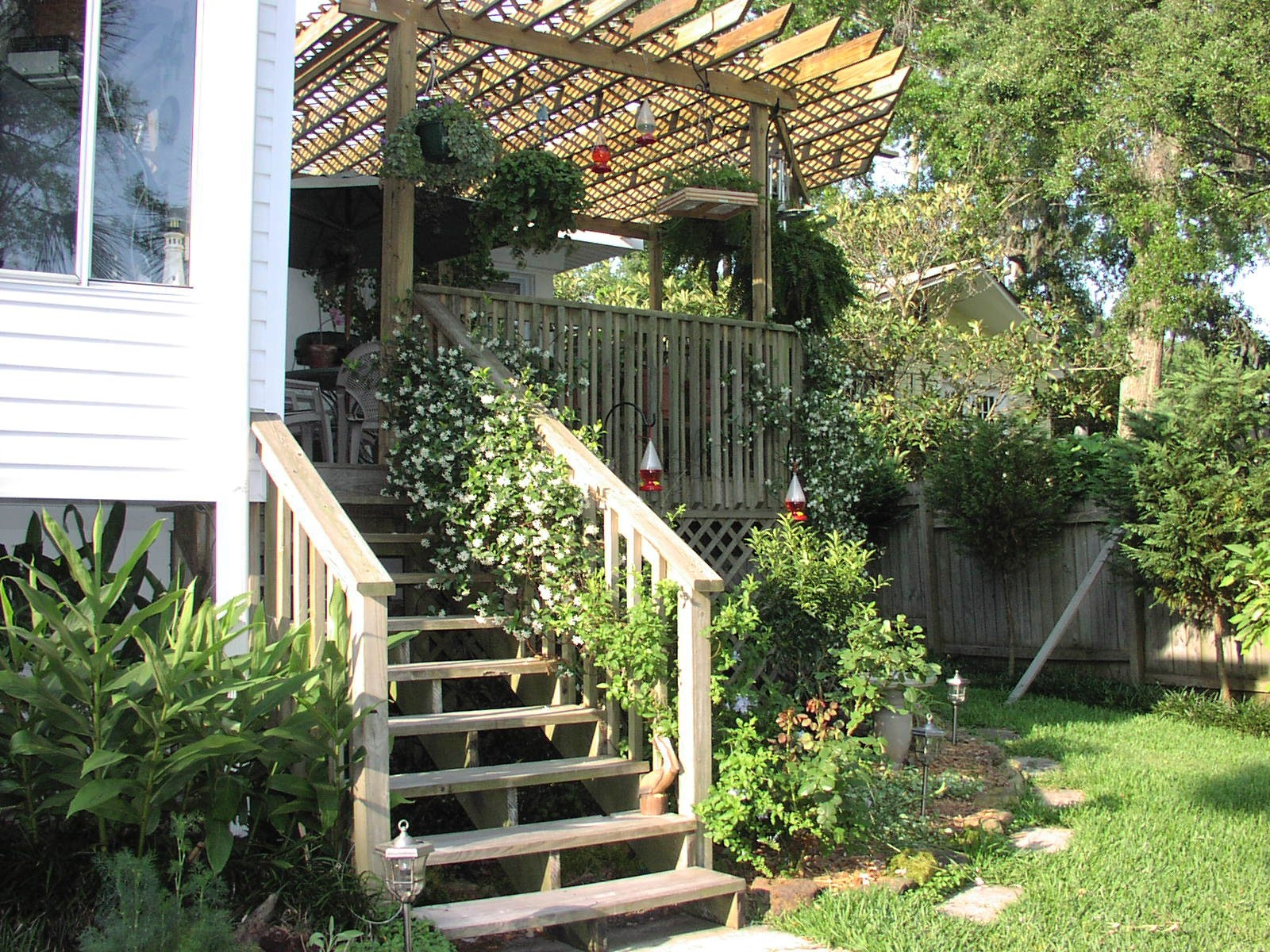 Most decks should be cleaned thoroughly and given a fresh coat of stain or sealant every two to four years.