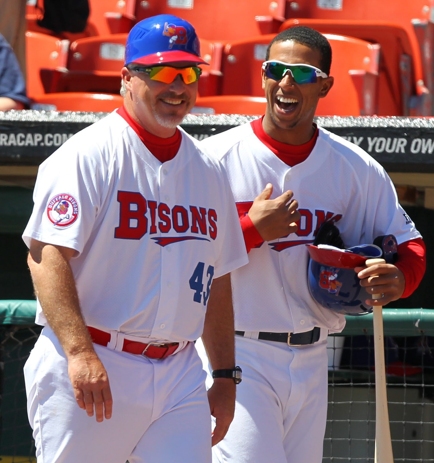 The Bisons were thrilled with Marty Brown's work in 2013.