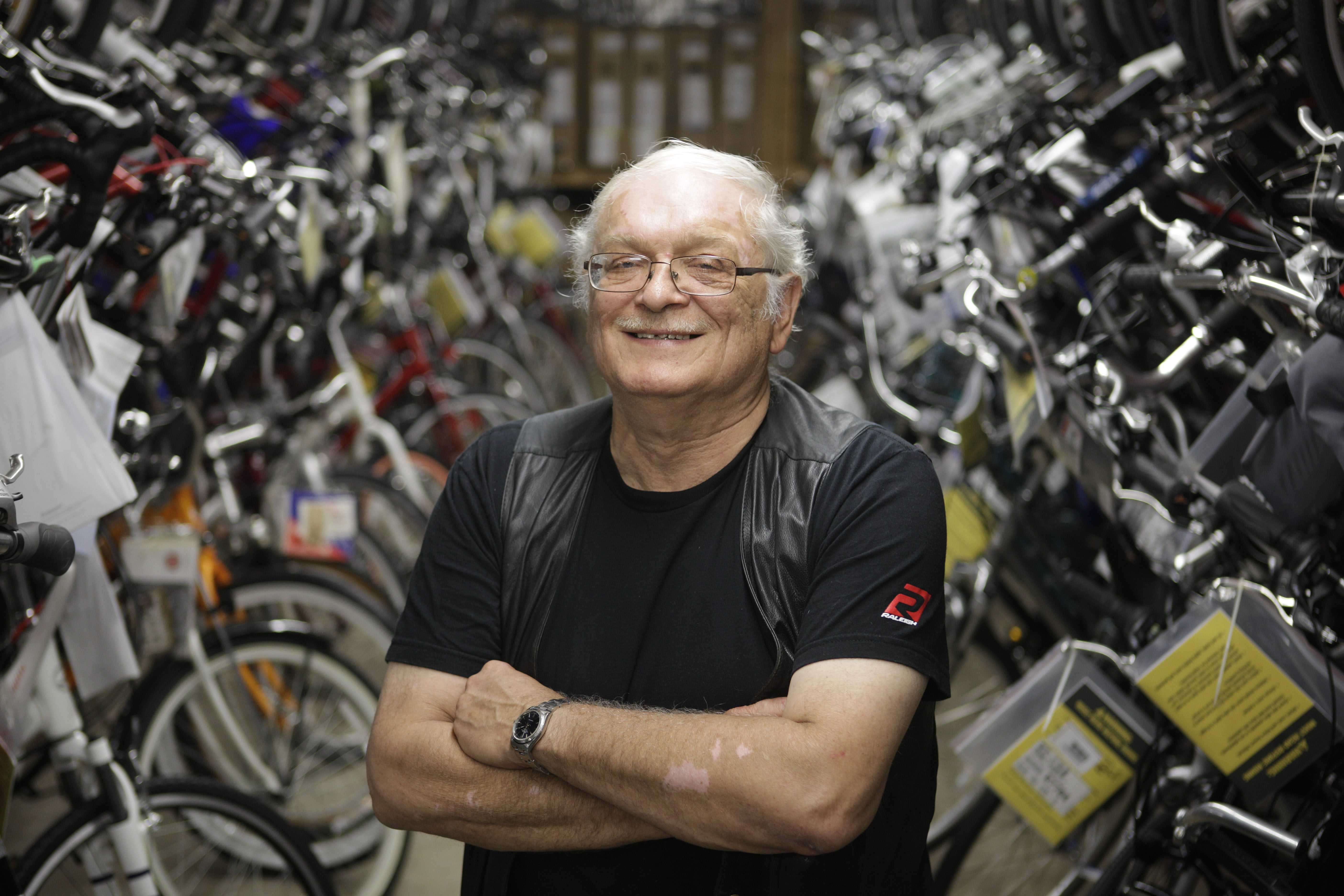 """When I sell you a bike, and if you're in trouble and need something done, we can do it. If you break down on the bike path, we'll come get you."" — Dick Wellenc"