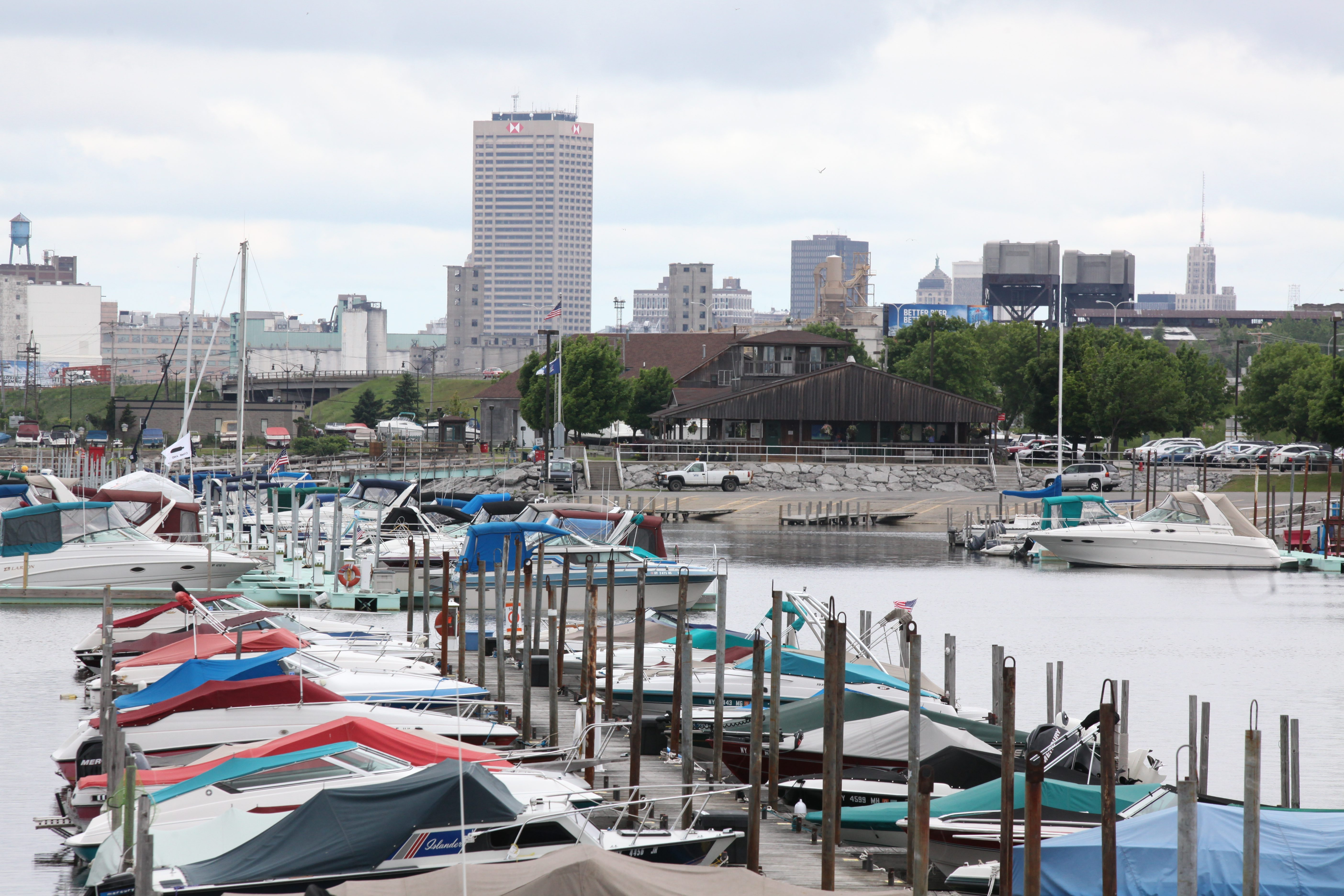 The Small Boat Harbor, which needs millions of dollars in repairs, will be transferred from the NFTA to the State Office of Parks, Recreation and Historic Preservation.