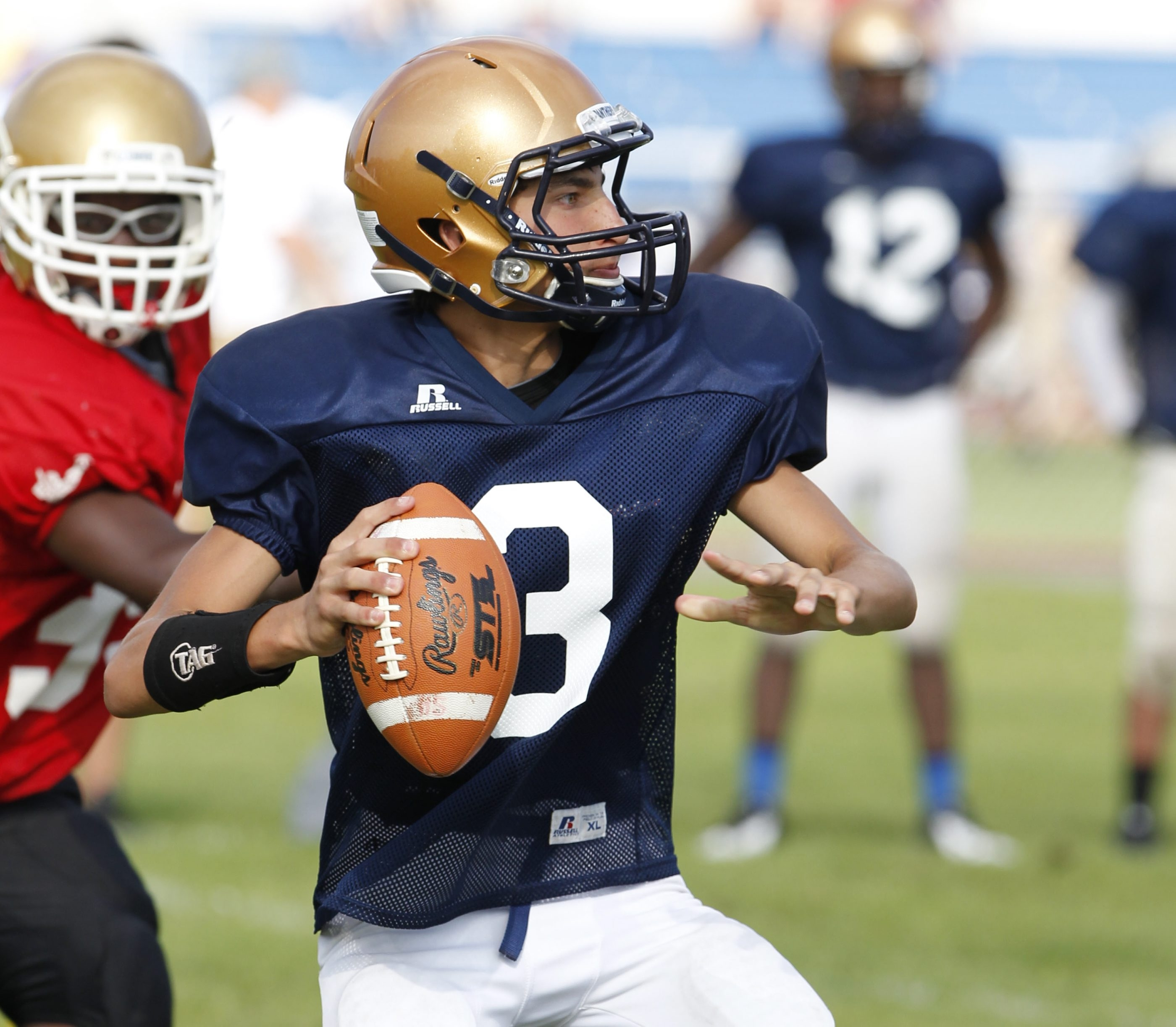 Kevin Torrillo will see time at quarterback for Sweet Home; brother Mike played QB last year.