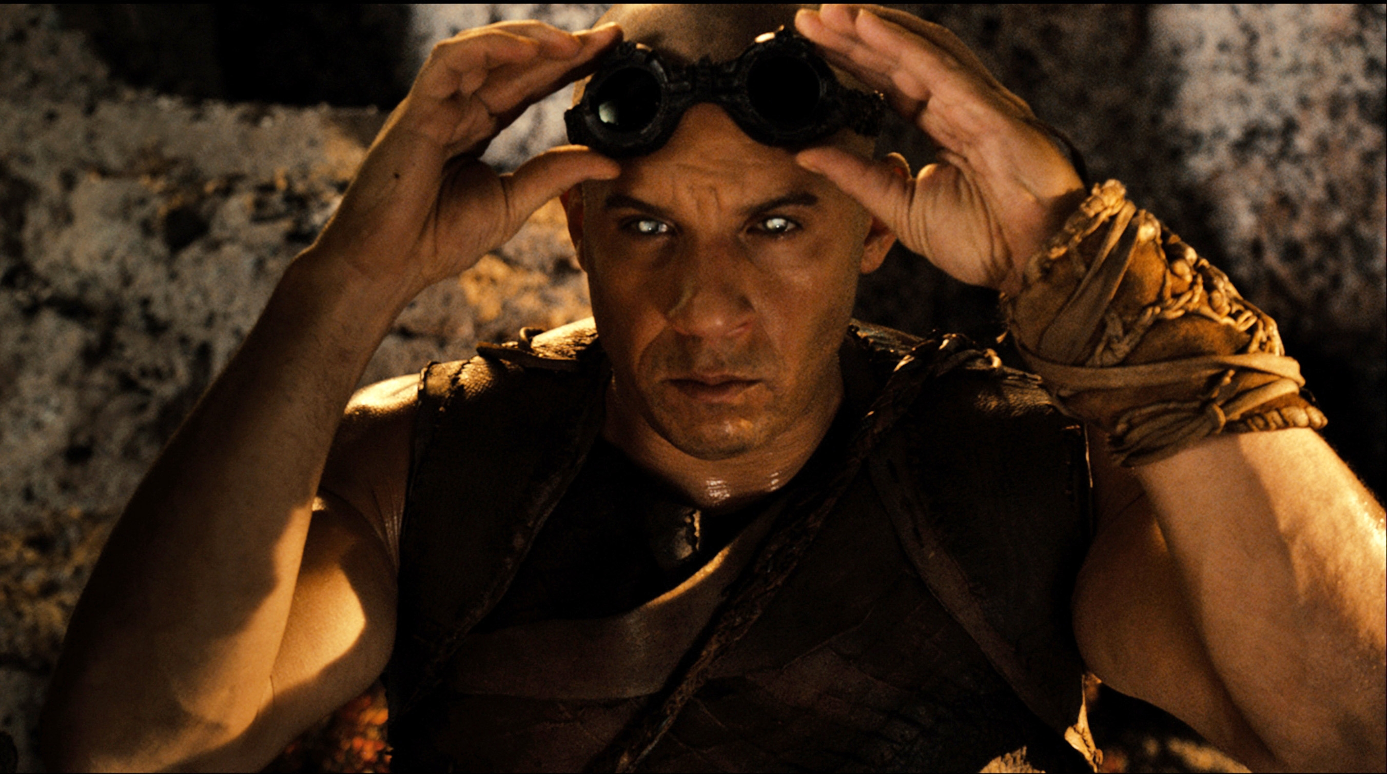 "Vin Diesel in a scene from ""Riddick."" (AP Photo/Universal Pictures)"