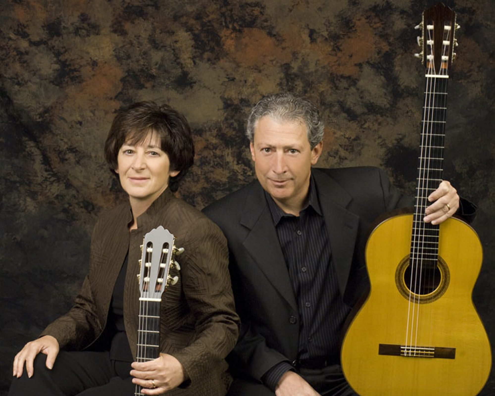 Joanne Castellani and Michael Andriaccio perform Sunday in Holy Trinity Lutheran Church as part of the Friends of Vienna series.
