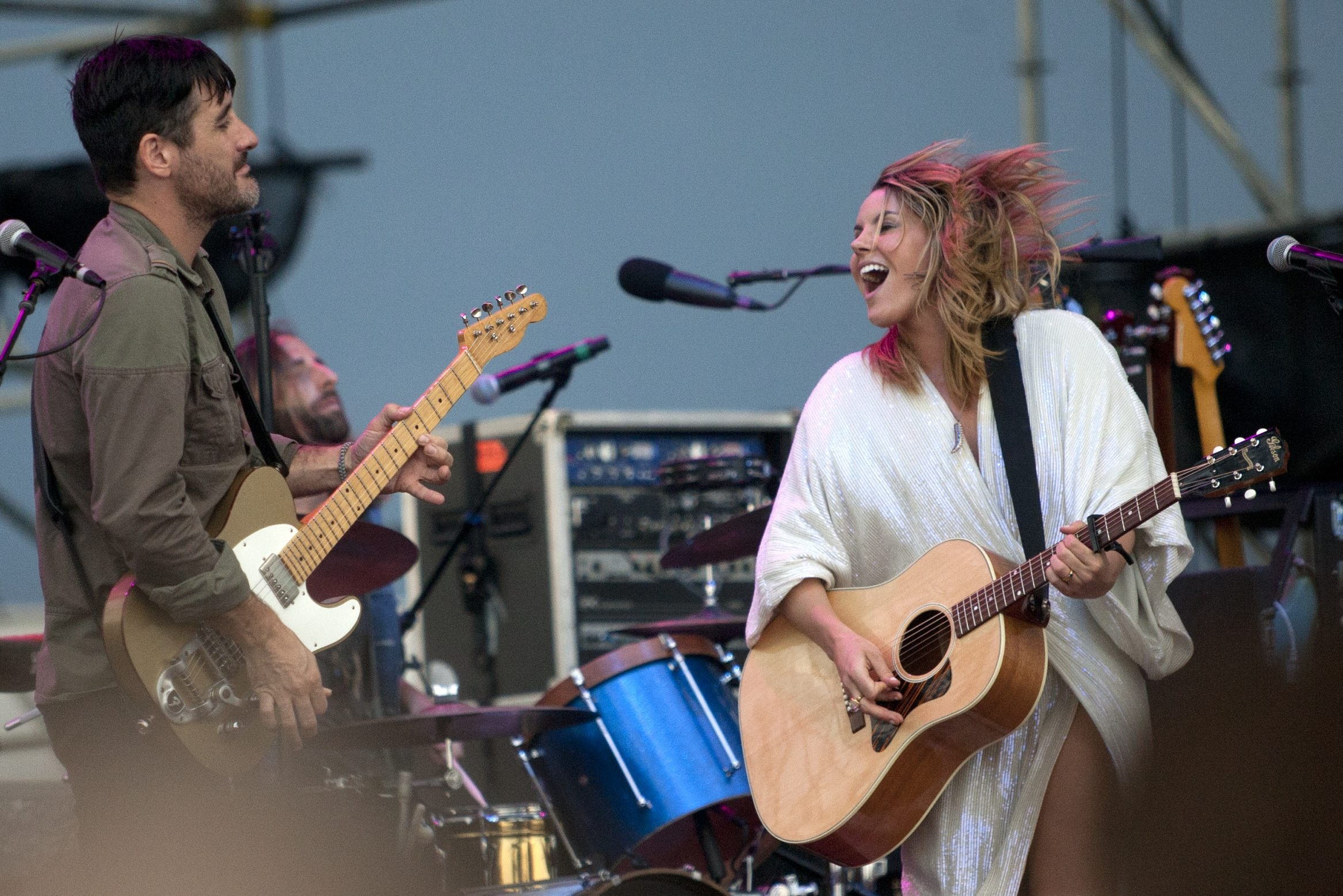 Matthew Masin/Buffalo News  Grace Potter and the Nocturnals, seen here at the Outer Harbor, return for a show Wednesday in the Town Ballroom.