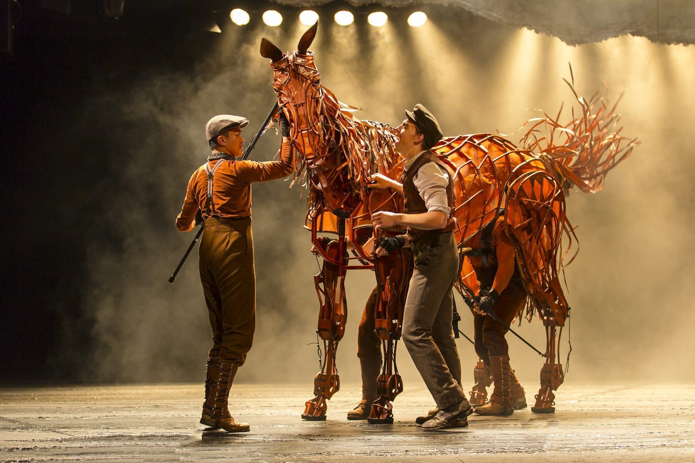 """EMBARGO UNTIL 8:15 PM THURS. NIGHT    """"War Horse"""" comes to Shea's Performing Arts Center from Nov. 12 to 17."""