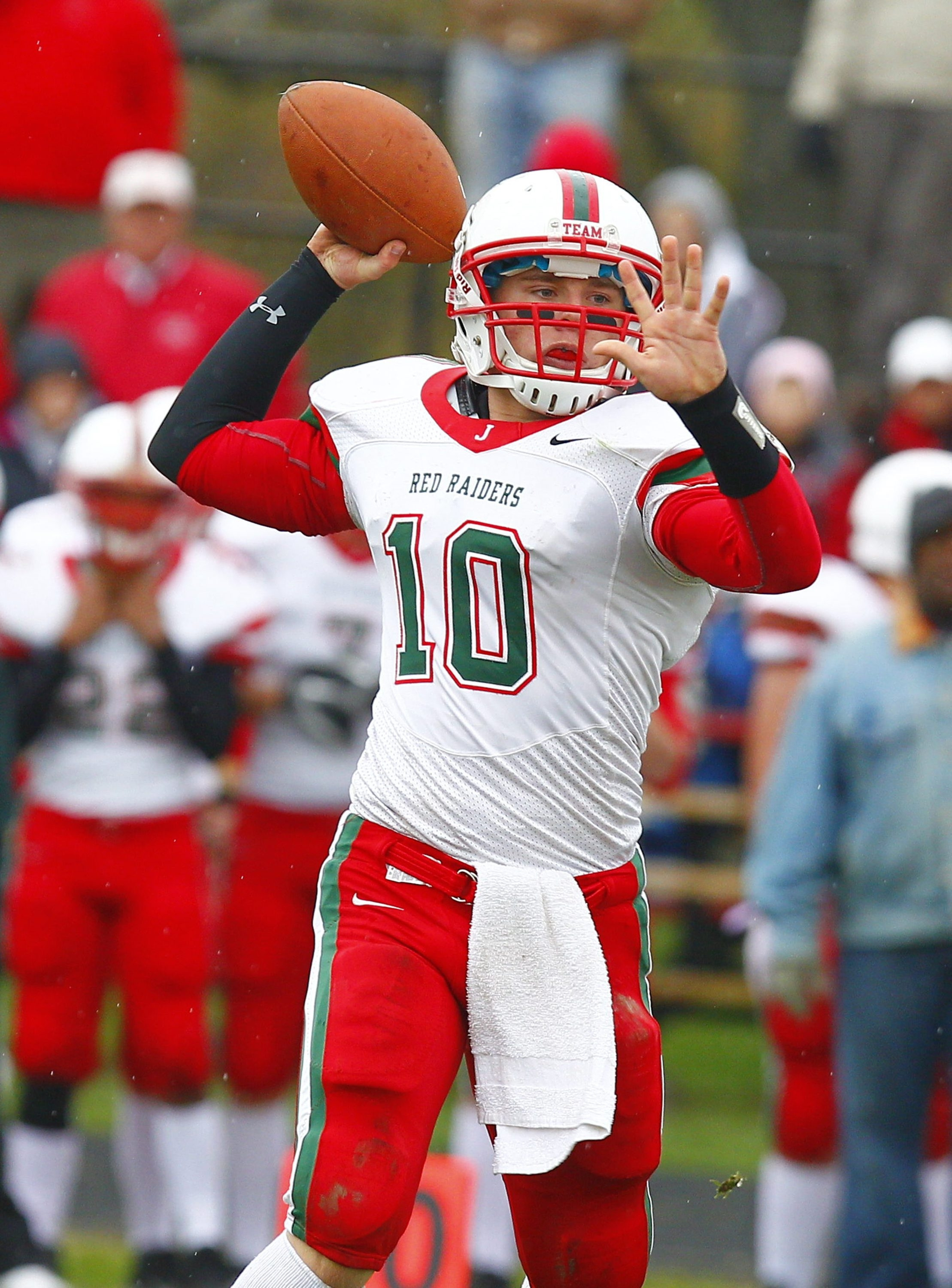 Quarterback Jake Sisson is one of many  key returning players for Jamestown.