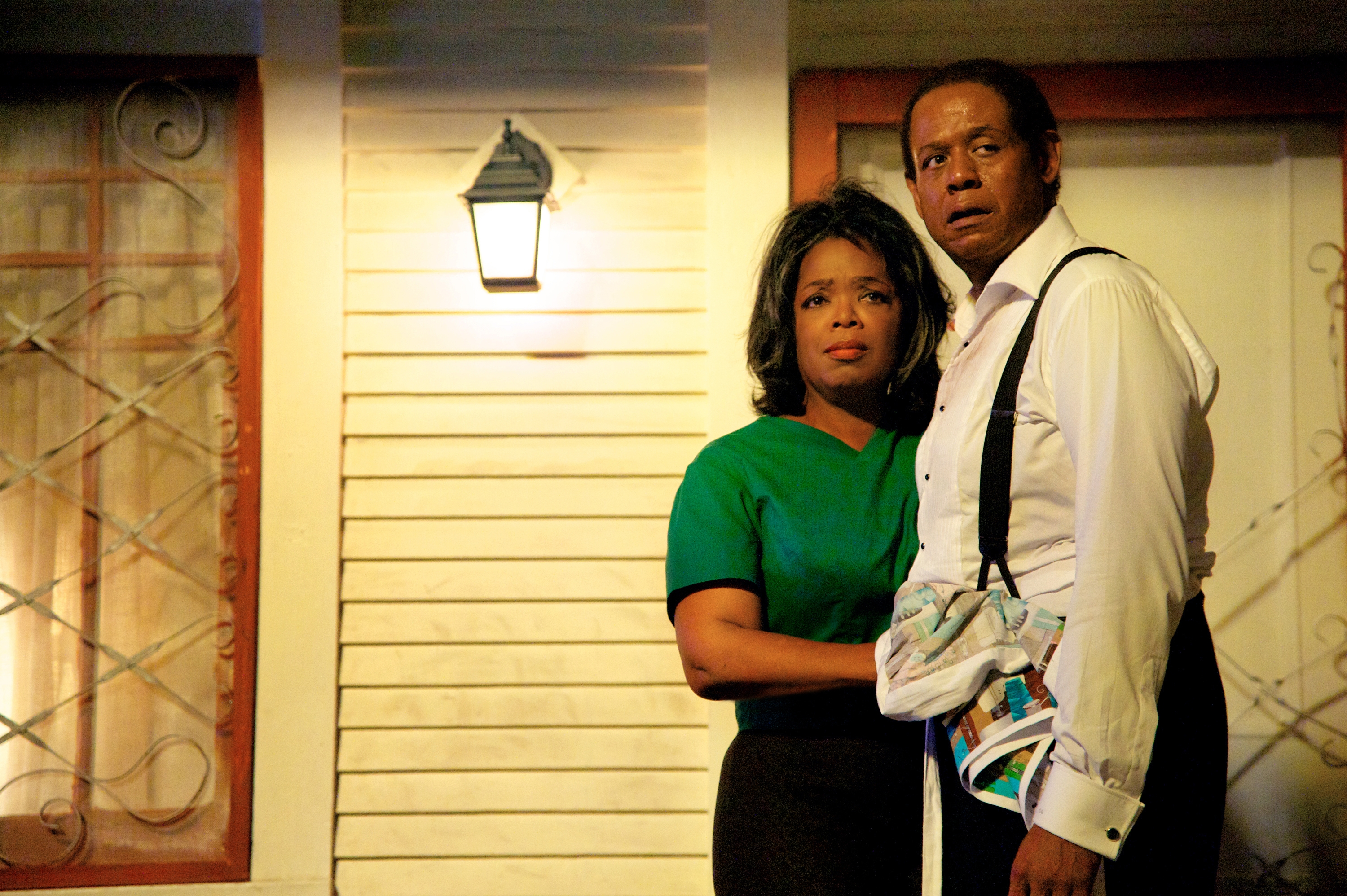"""Oprah Winfrey plays Gloria Gaines and Forest Whitaker plays her husband, Cecil, in """"Lee Daniels' The Butler."""""""