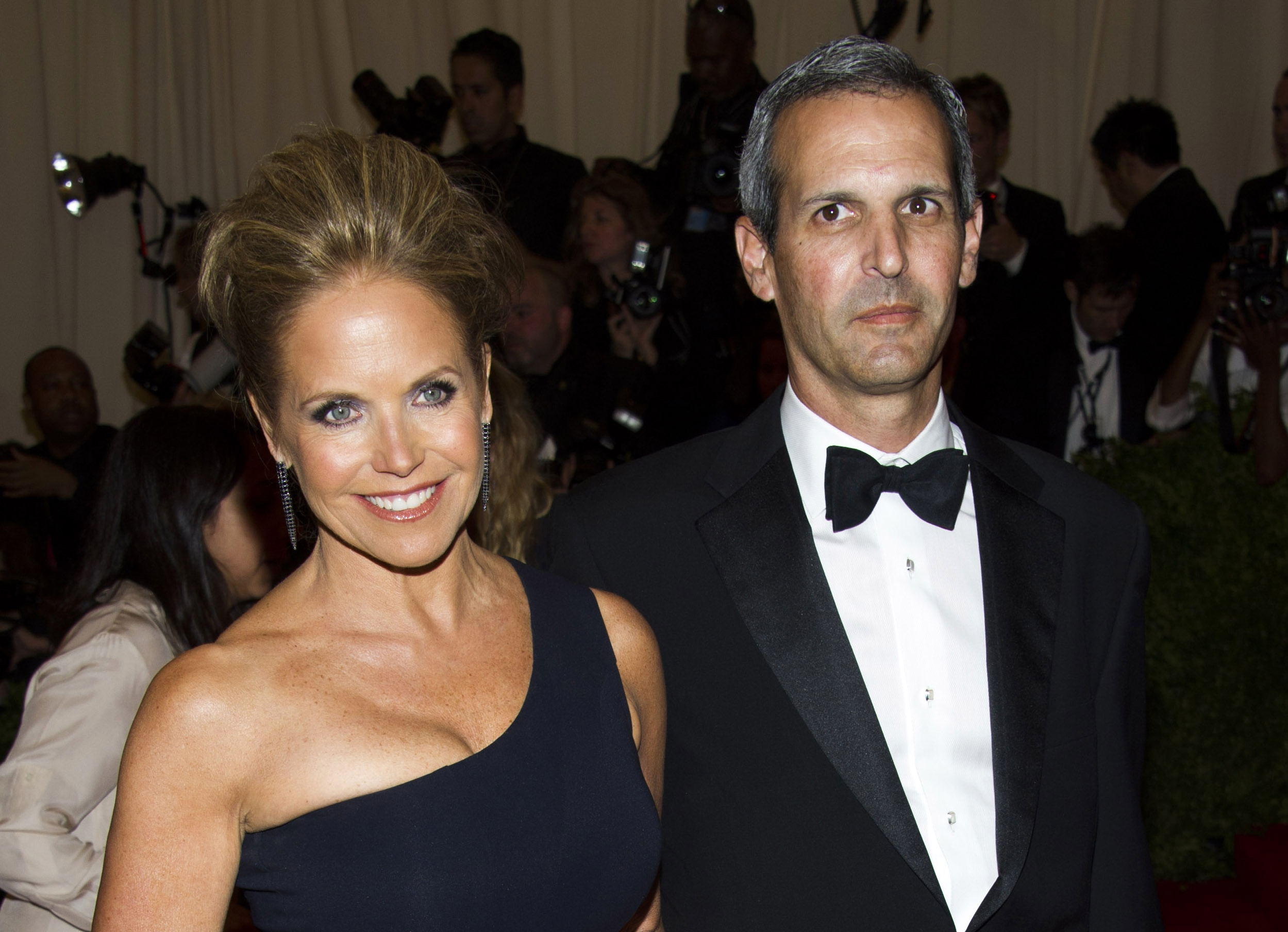 Television personality Katie Couric and her financier boyfriend, John Molner, shown here in May, have become engaged.