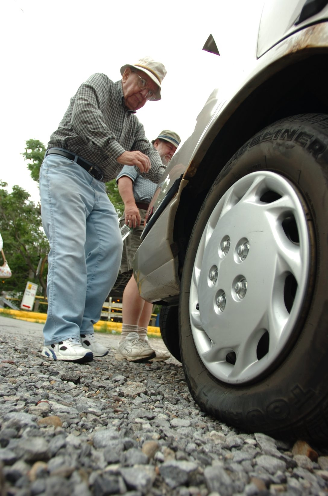 A large percentage of tire repairs are not up to industry standards. The proper way to repair a tire is to remove it from the rim and fix it from the inside.