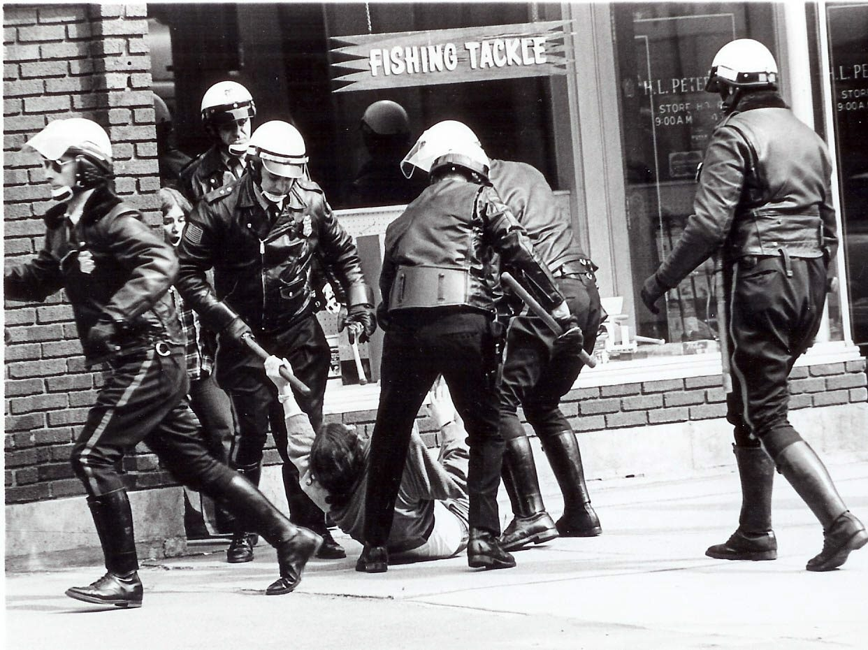 Author Radley Balko points out how civil uprisings, like the University at Buffalo student uprisings in 1970, have led to a more powerful police force.