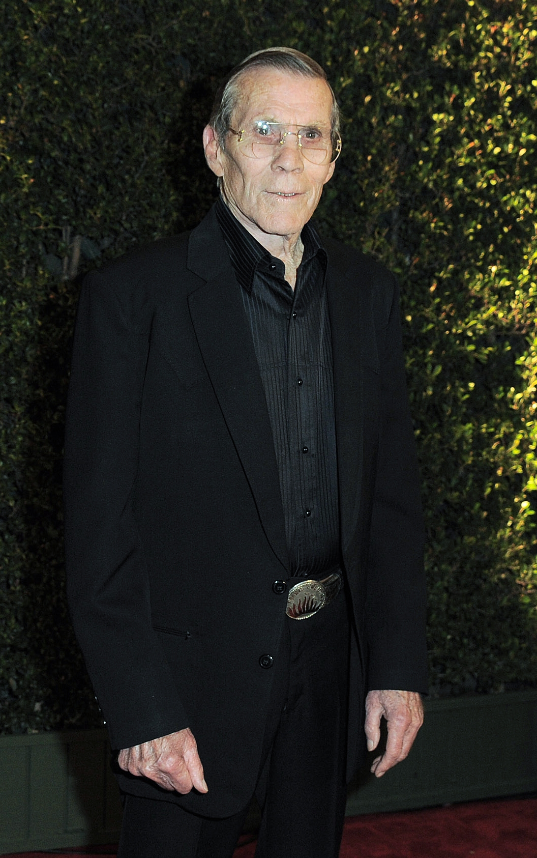 """FILE – In this Dec. 1, 2012 file photo, Hal Needham arrives at the 4th Annual Governors Awards at Hollywood and Highland Center's Ray Dolby Ballroom in Los Angeles. Needham, a top Hollywood stuntman who turned to directing rousing action films including """"Smokey and the Bandit"""" and """"The Cannonball Run,"""" died Friday, Oct. 25, 2013, his business managers told the Los Angeles Times. He was 82. (Photo by Jordan Strauss/Invision/AP, File)"""