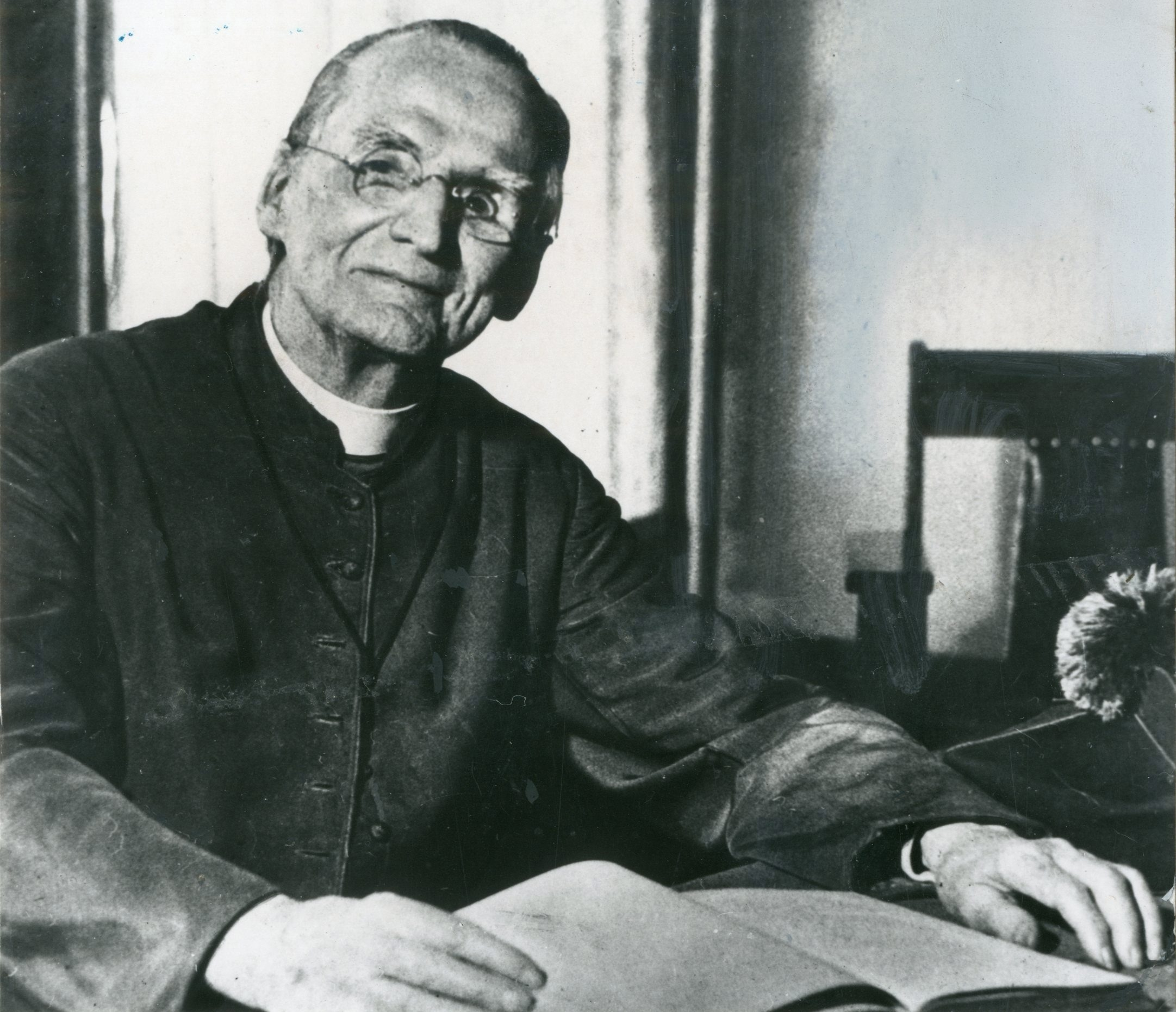 "Father Nelson Baker's varied ministries testify to his ""heroic virtue,"" which is one qualifier for sainthood."