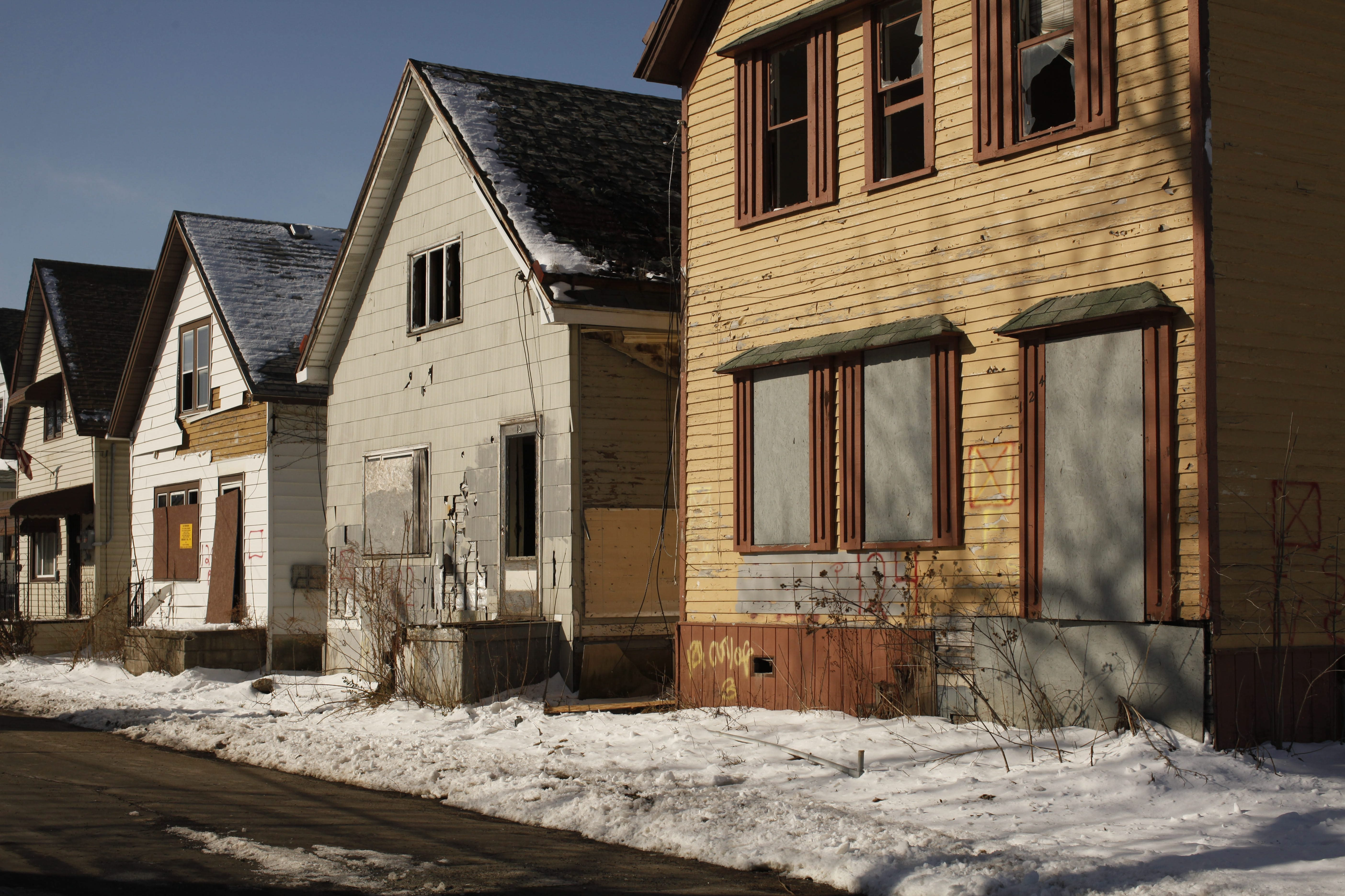 With an infusion of state cash, the Erie County land bank should be able to work to reclaim blighted neighborhoods. (Buffalo News file photo)