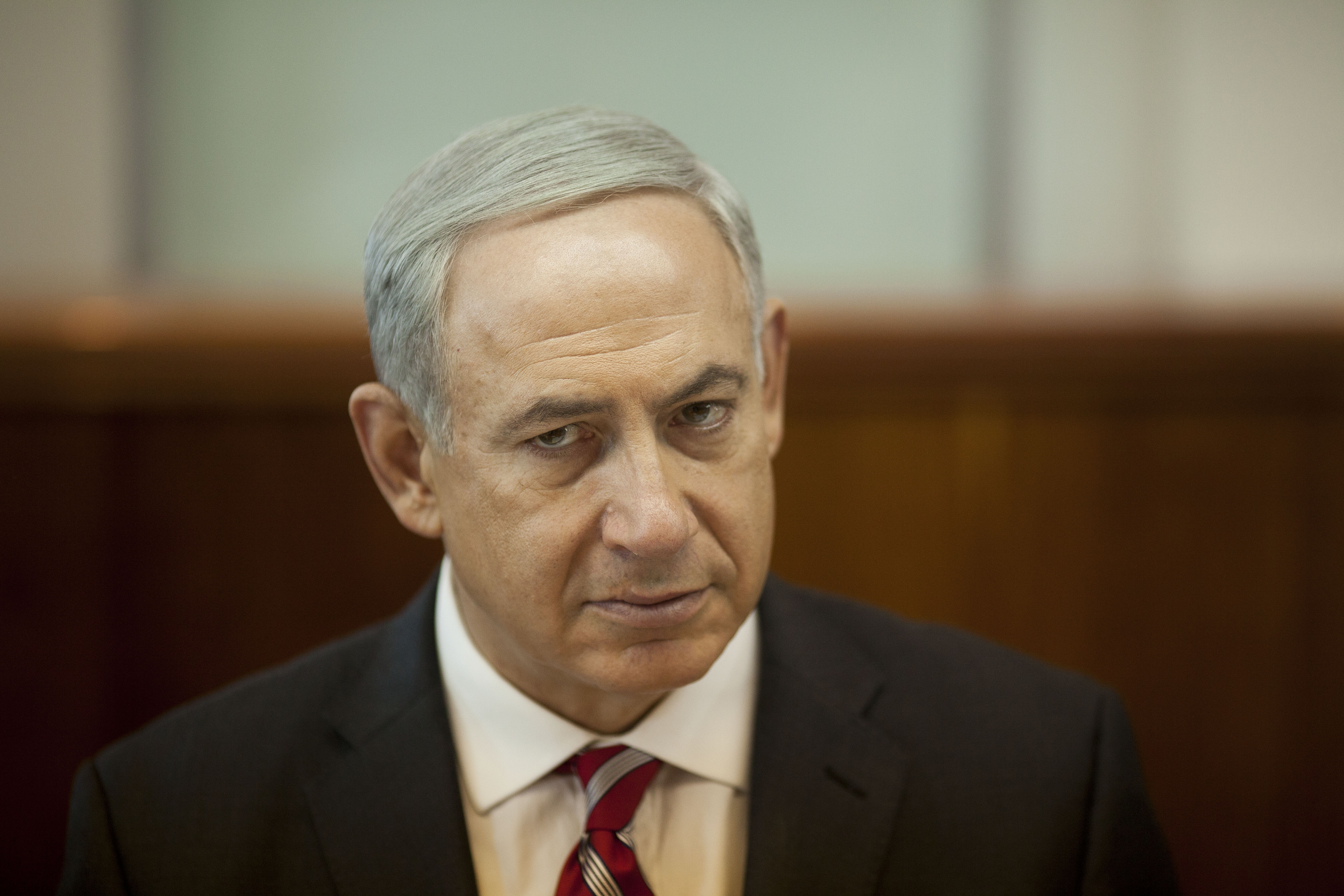 "Benjamin Netanyahu said relaxing pressure on Iran would be a ""historic mistake."""