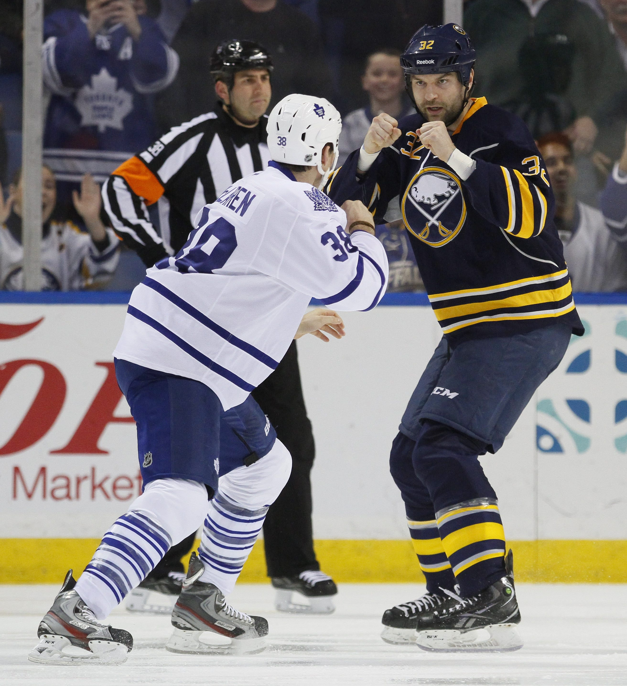 The fact that John Scott fights on the ice does not make him a dirty player, according to Sabres co-captain Steve Ott.