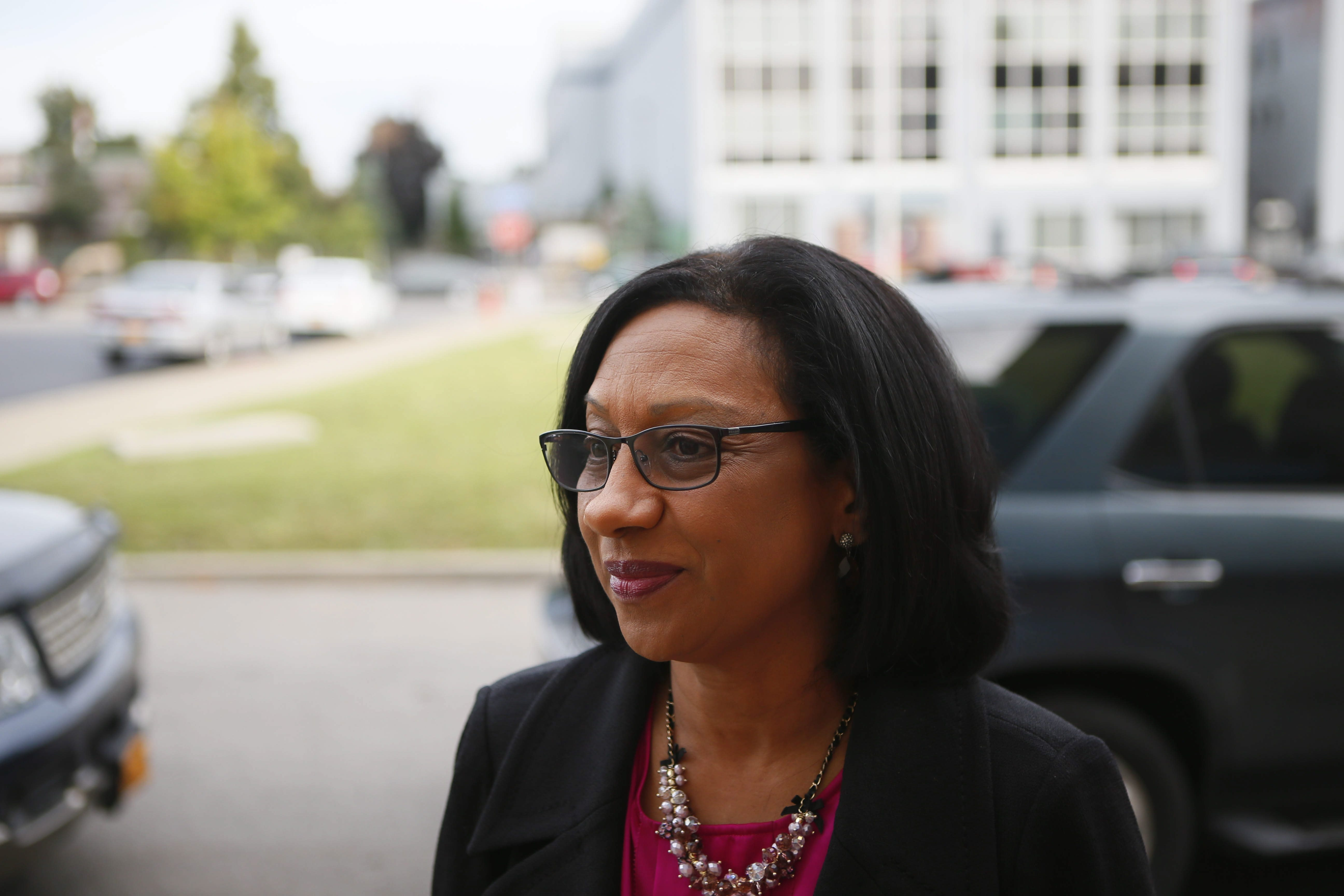 School Superintendent Pamela Brown's attempt to reorganize district staff ran into opposition on many fronts. (Derek Gee/Buffalo News file photo)