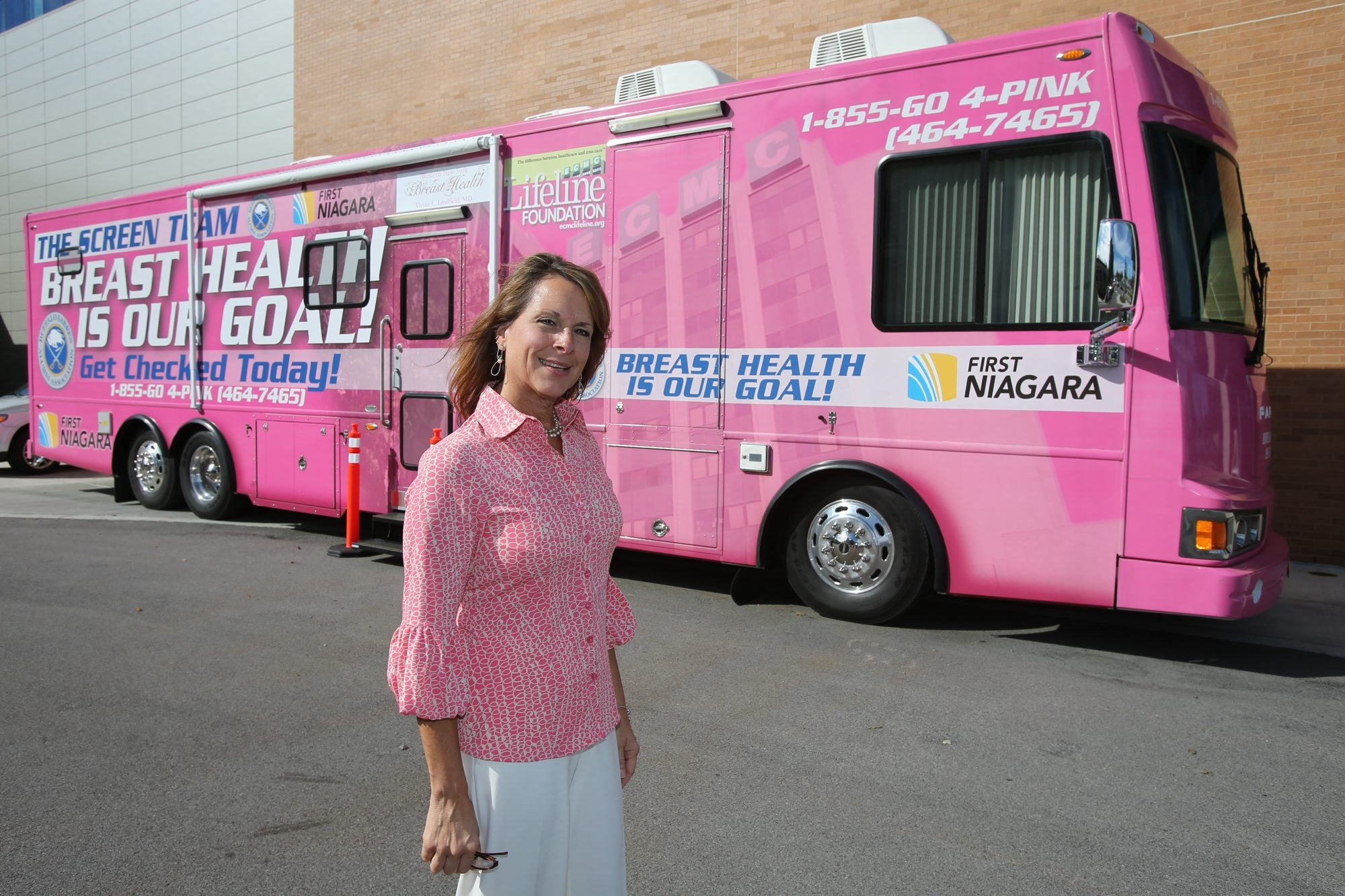 """""""When I got through my healing process … I decided I would like to do something in the area of breast cancer."""" – Kathleen E. Michienzi"""