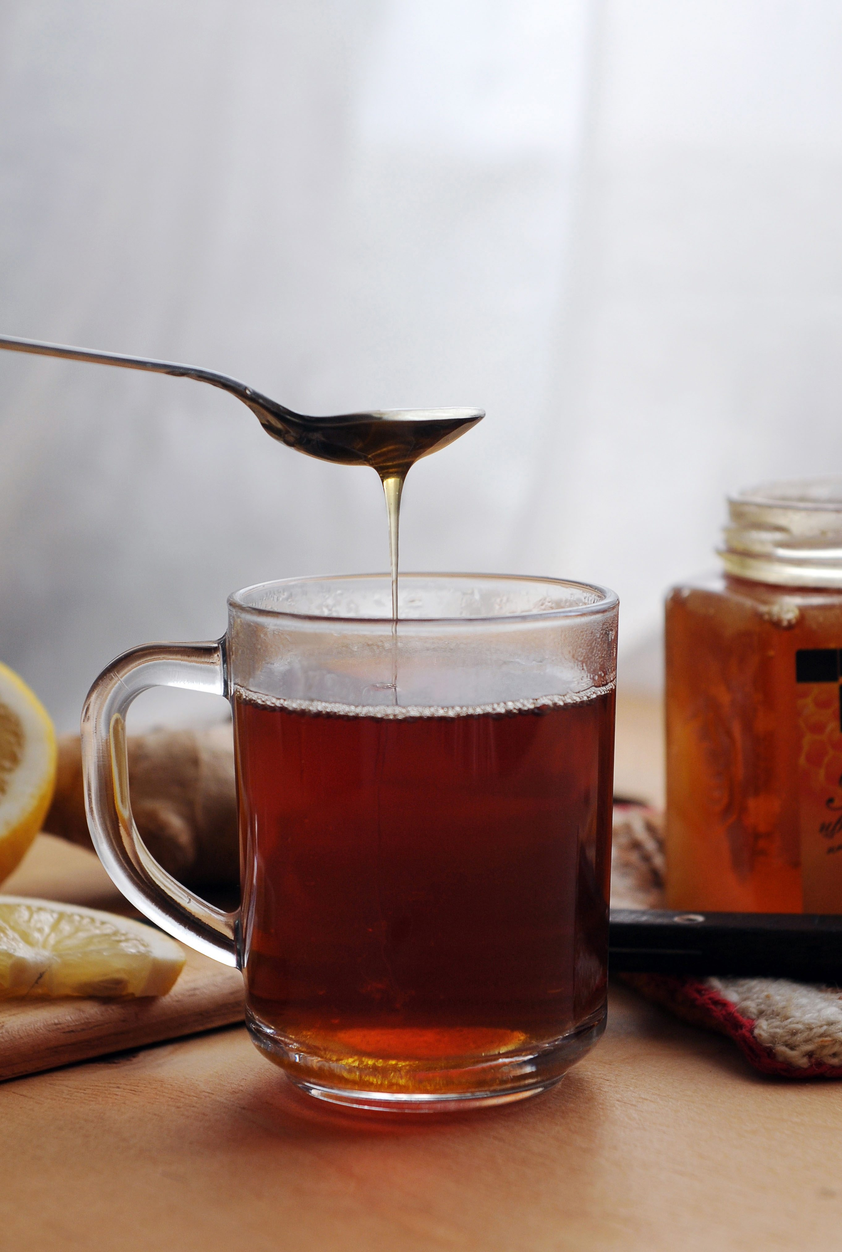 Sugar comes in many forms including honey, brown rice syrup, corn syrup and molasses.