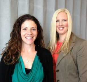 """Kate Cumbo, left, and Tanya Miller are co-chairwomen of the """"Conference on Health Care for Women – Healthy Inside and Out,"""" set for Nov. 2 in Niagara Falls."""