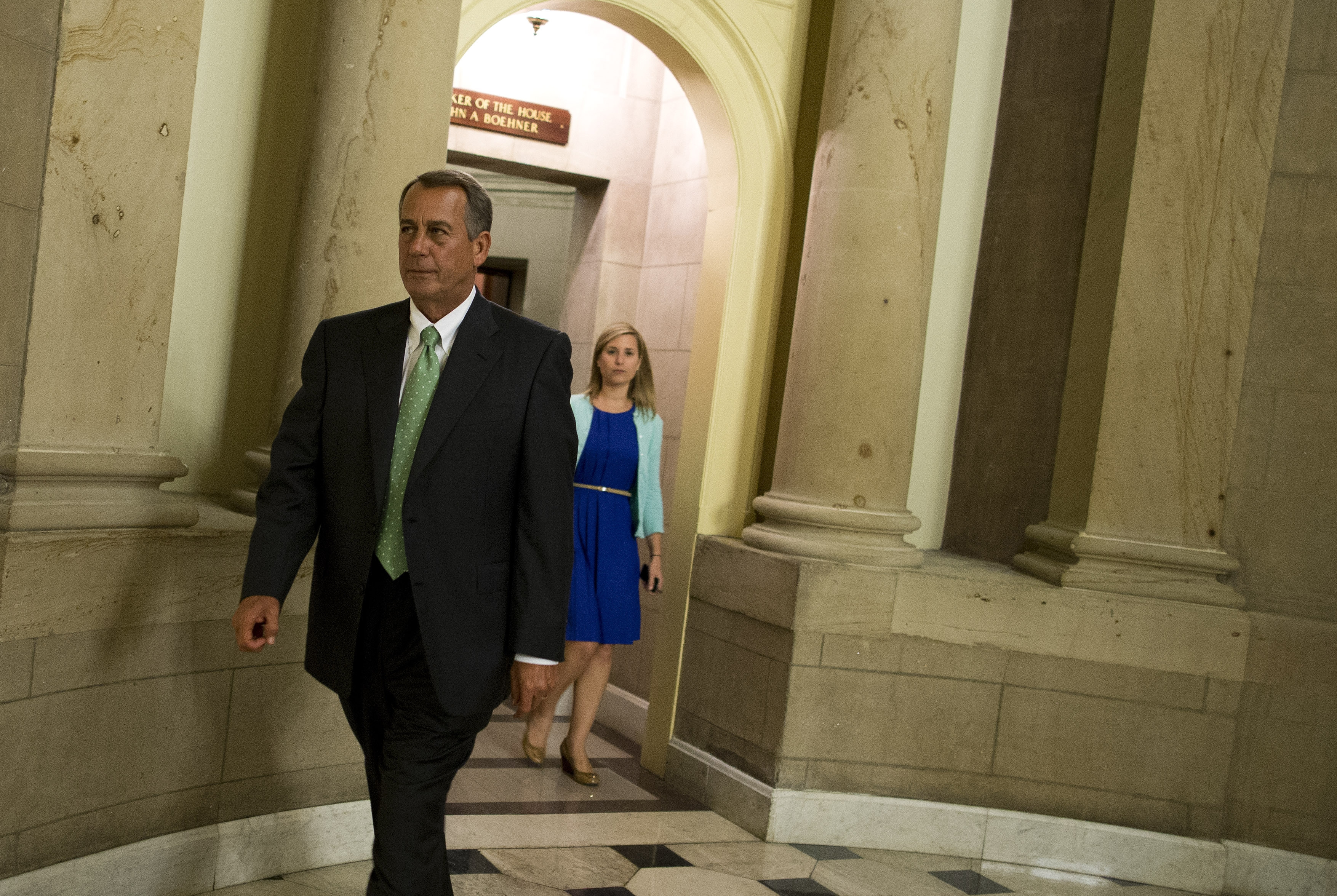 Ten months after saying Republicans would back off their attempt to repeal the Affordable Care Act, Speaker of the House Rep. John Boehner, R-Ohio, changed his mind.