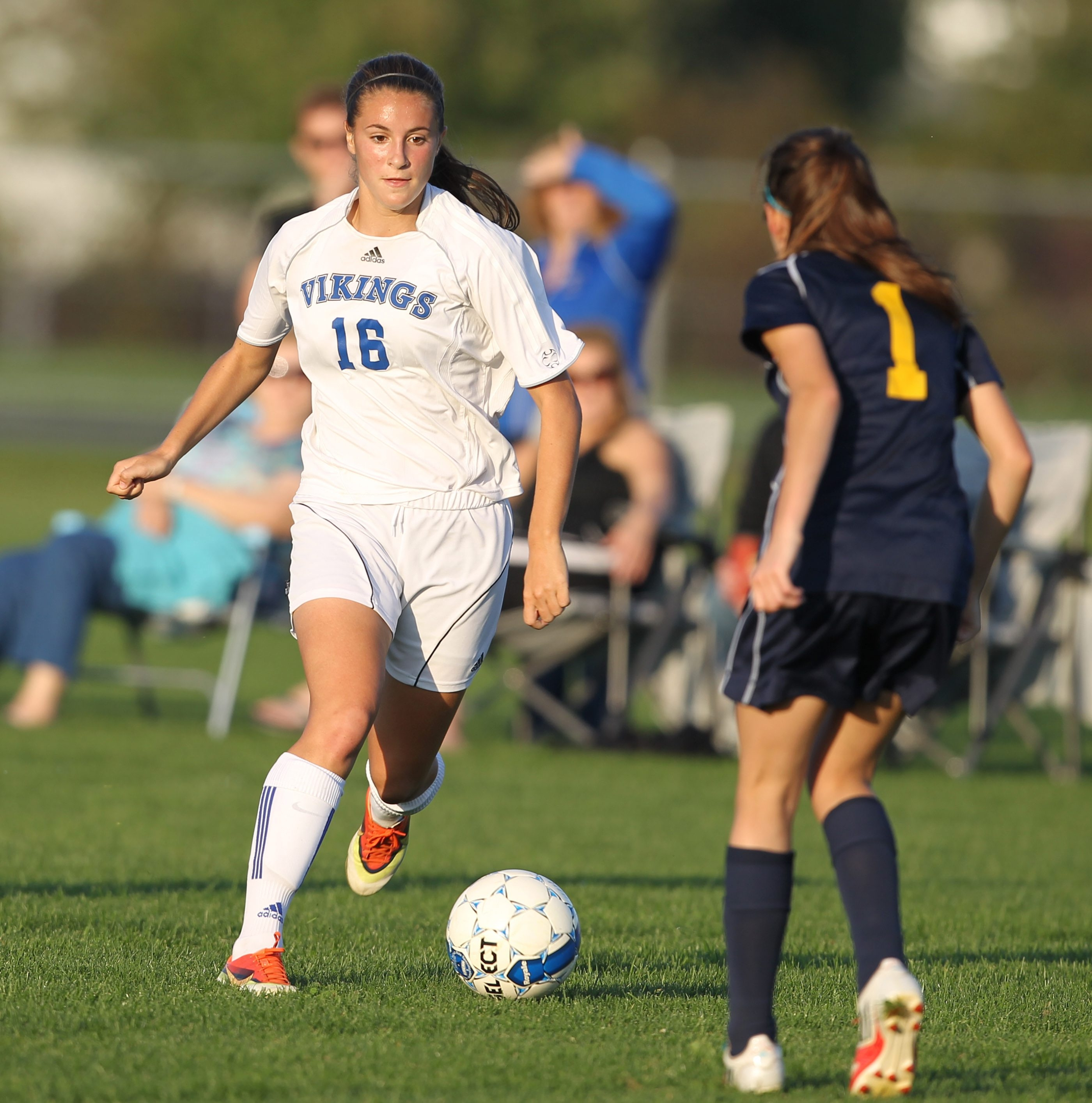 Coming attractions: Madisyn Pezzino and the No. 2 seeded Grand Island girls soccer team plays No. 6 Hamburg today at Depew at 4:30 p.m. in a Class A semifinal.