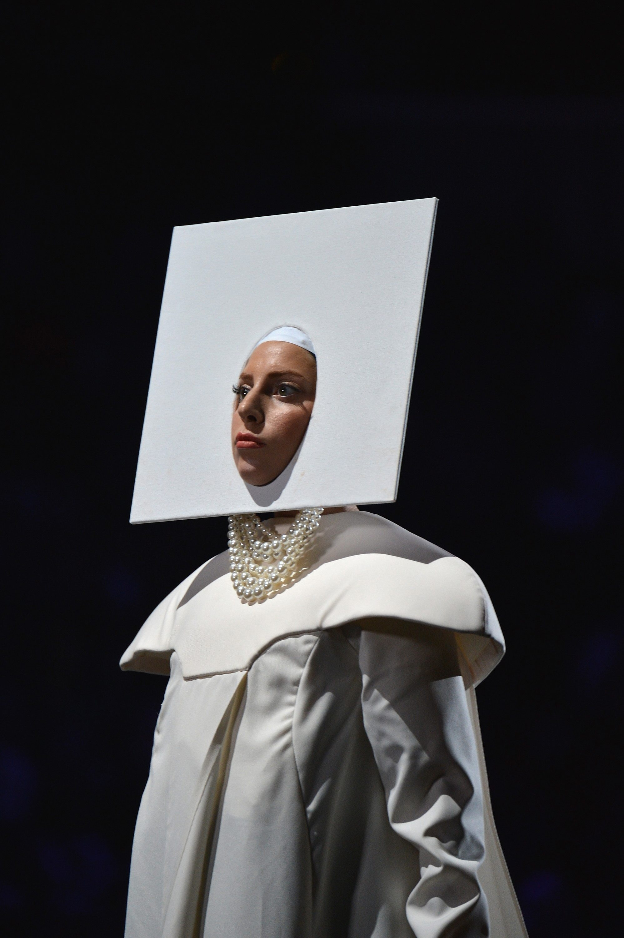 Borrow an idea from Lady Gaga's getup during the 2013 MTV Video Music Awards.