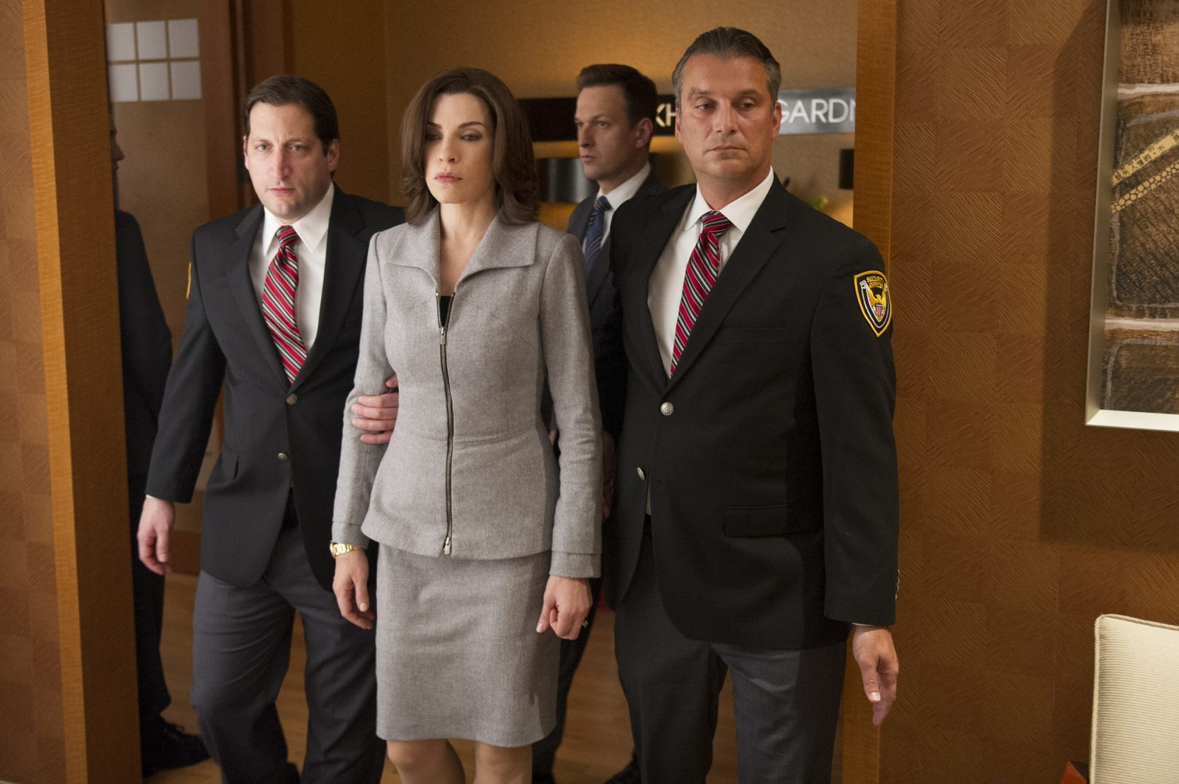 """Things started heating up again when Alicia Florrick (Julianna Margulies) got tossed out of Will Gardner's law firm on """"The Good Wife,"""" which airs at 9 p.m. Sundays on CBS."""