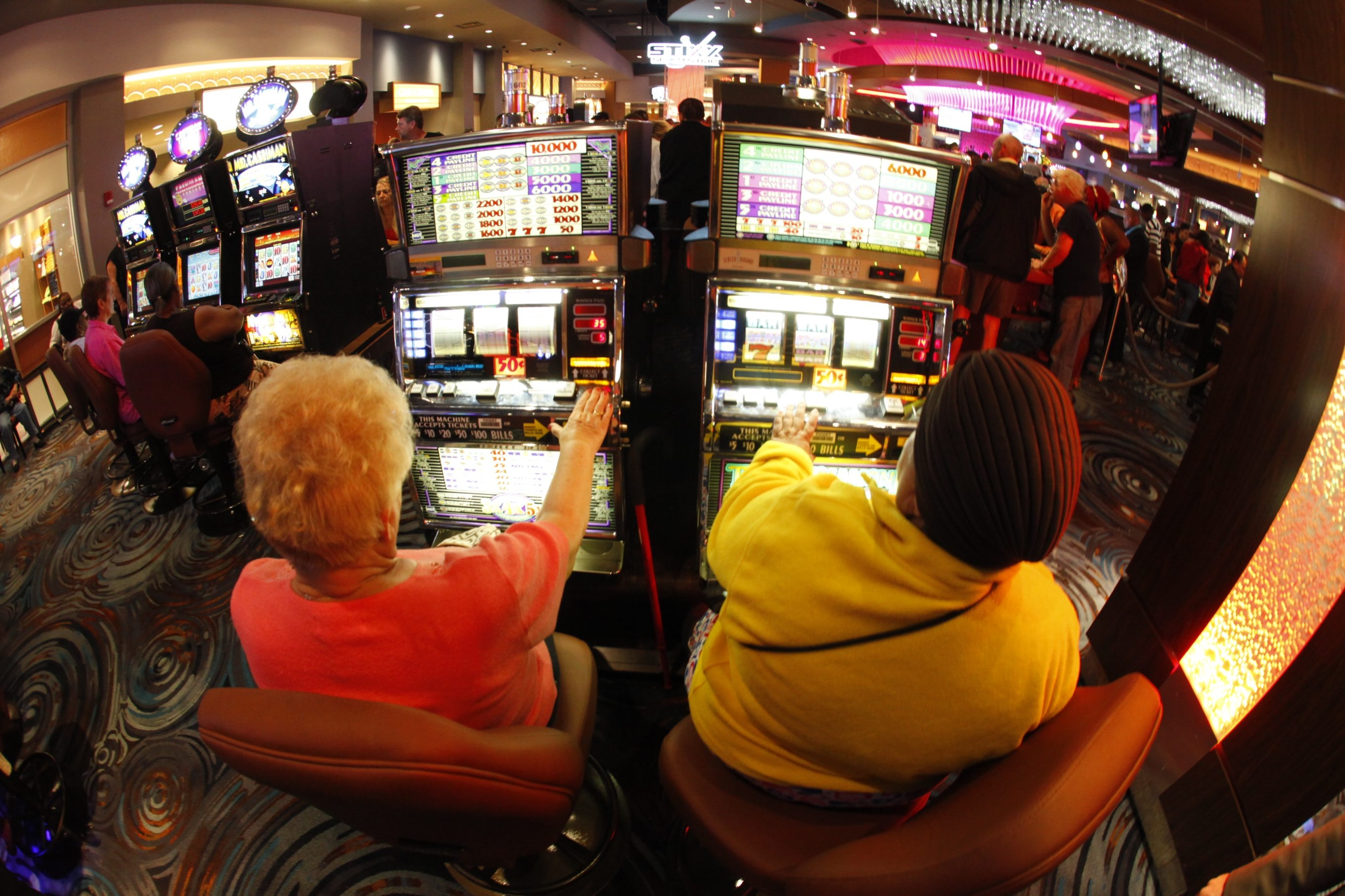 Business is brisk at Seneca Buffalo Creek Casino as state voters await Nov. 5 referendum on adding up to seven Vegas-style sites.