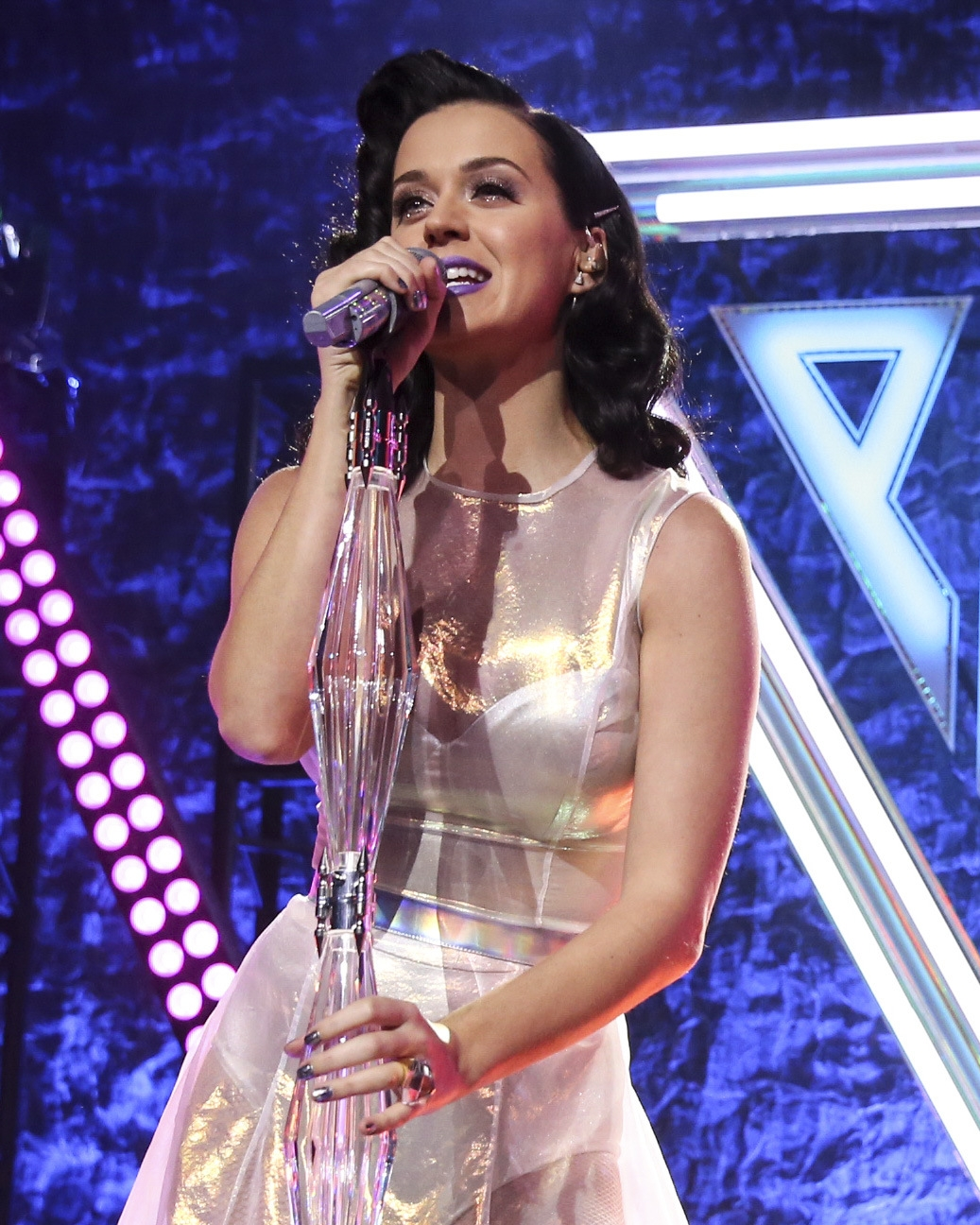 """Katy Perry offers musical fast food, and her most interesting album yet, in """"Prism."""""""