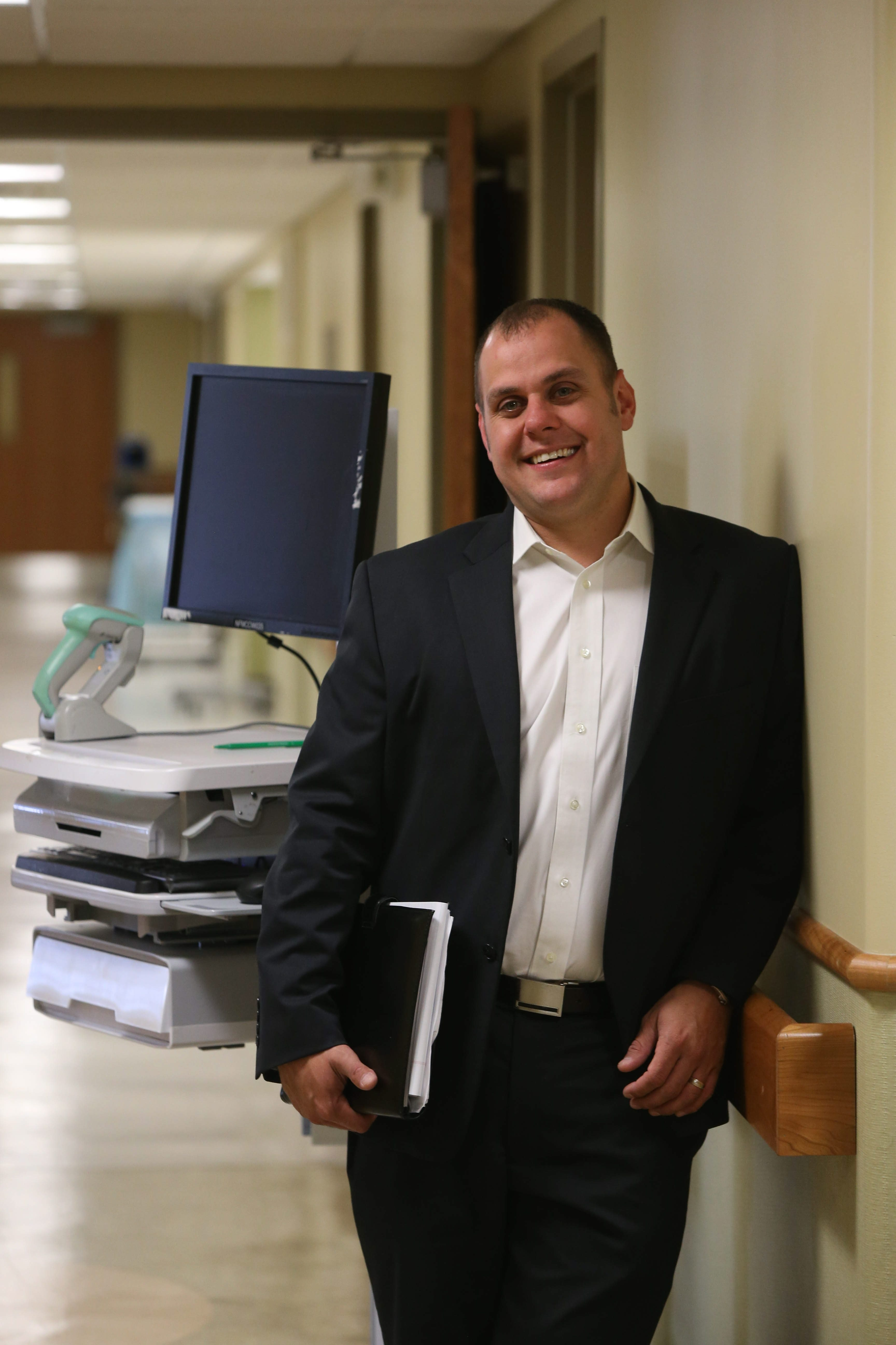 Aaron Wilson discusses his role as the program director of the new Wound Care Center at Niagara Falls Memorial Medical Center.