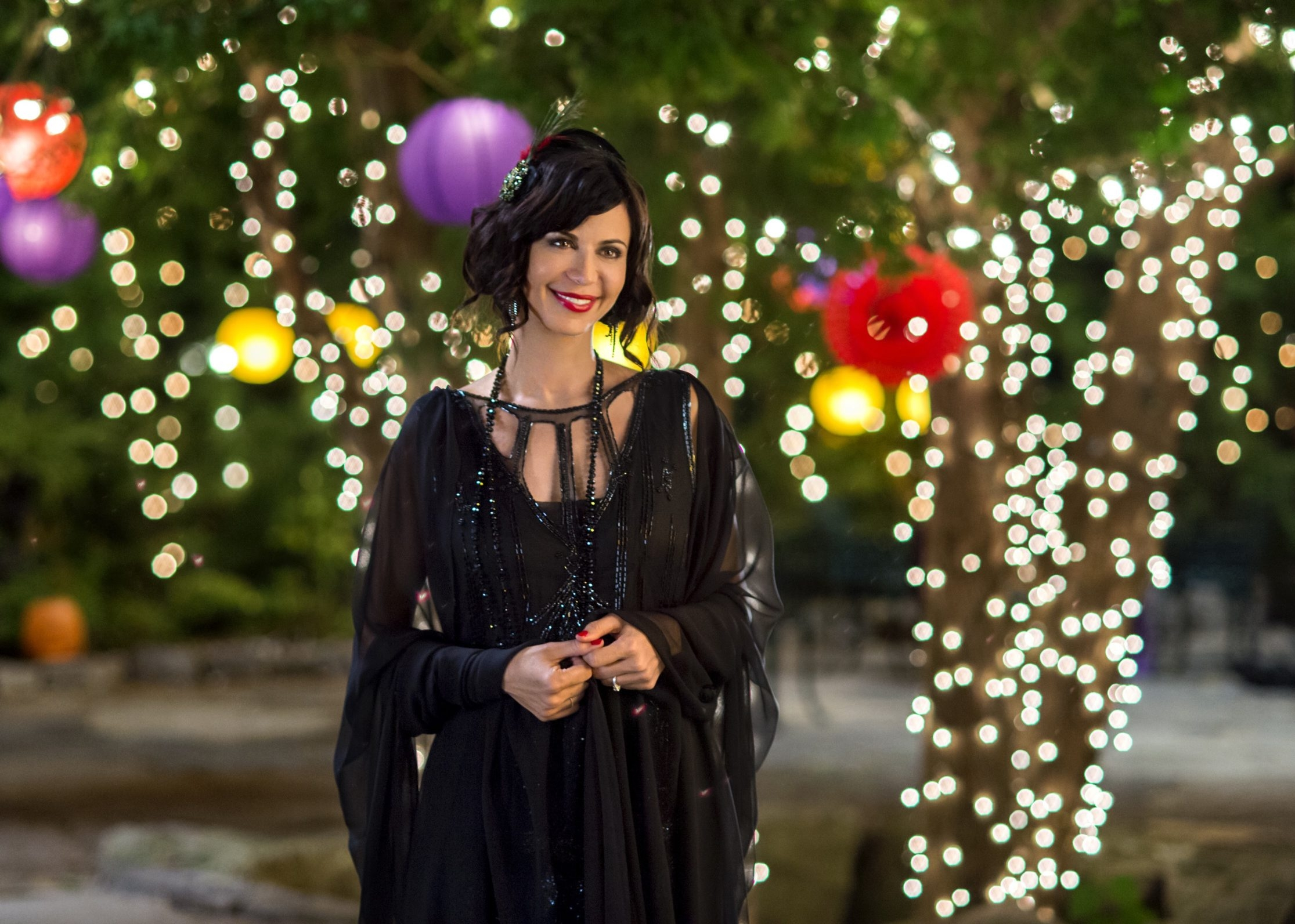 """Catherine Bell returns as Cassie Nightengale in """"The Good Witch's Destiny."""" The sixth installment in the Hallmark Channel's original movie series premieres Saturday night."""