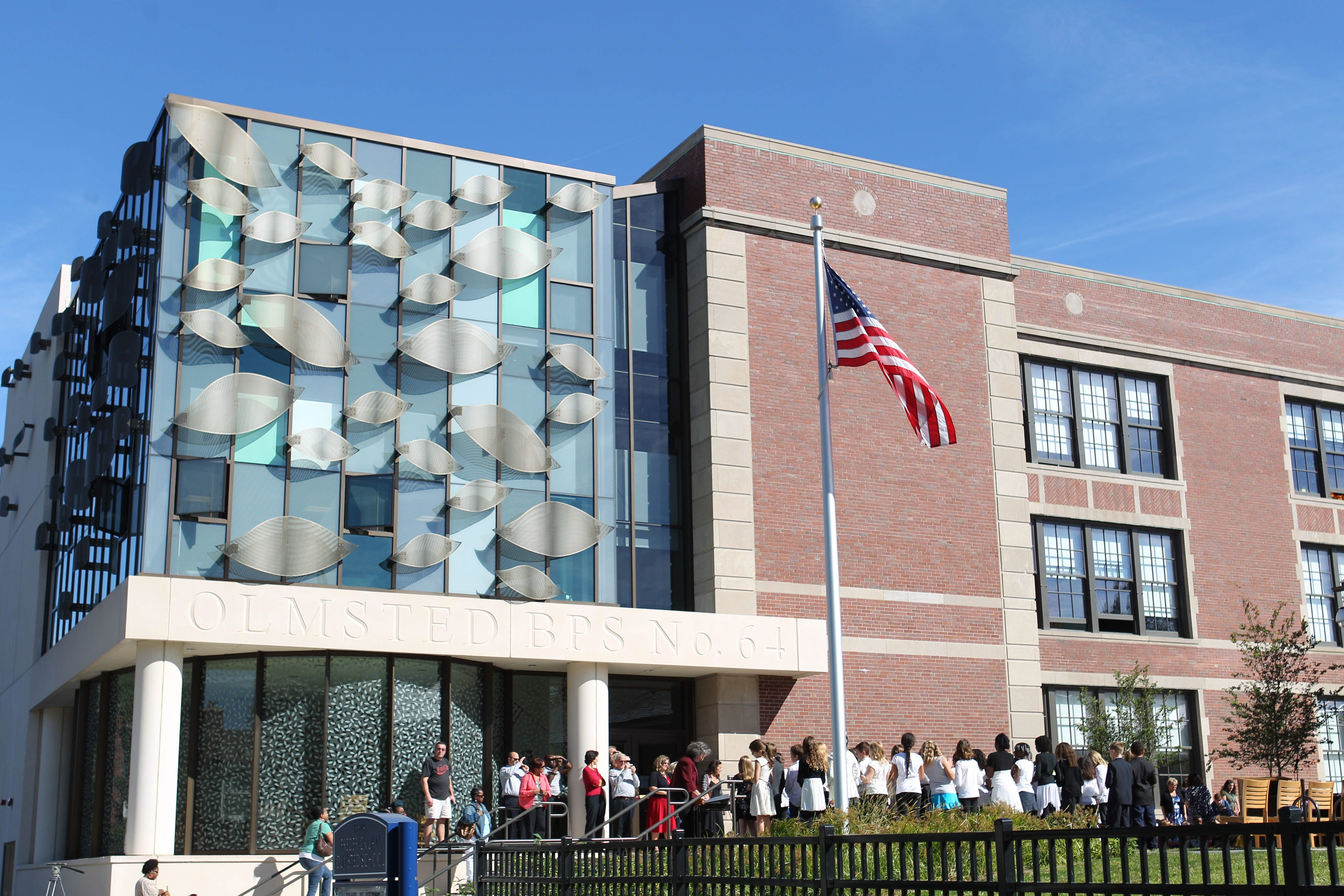 While the district's deadline for next year's enrollment applications is Dec. 6, anyone who waits that long will be shut out of four of the district's high-performing schools, including Olmsted 64 pictured here. Olmsted 64, City Honors, Olmsted 156, Hutch-Tech and Buffalo Academy for Visual and Performing Arts all have admissions tests.