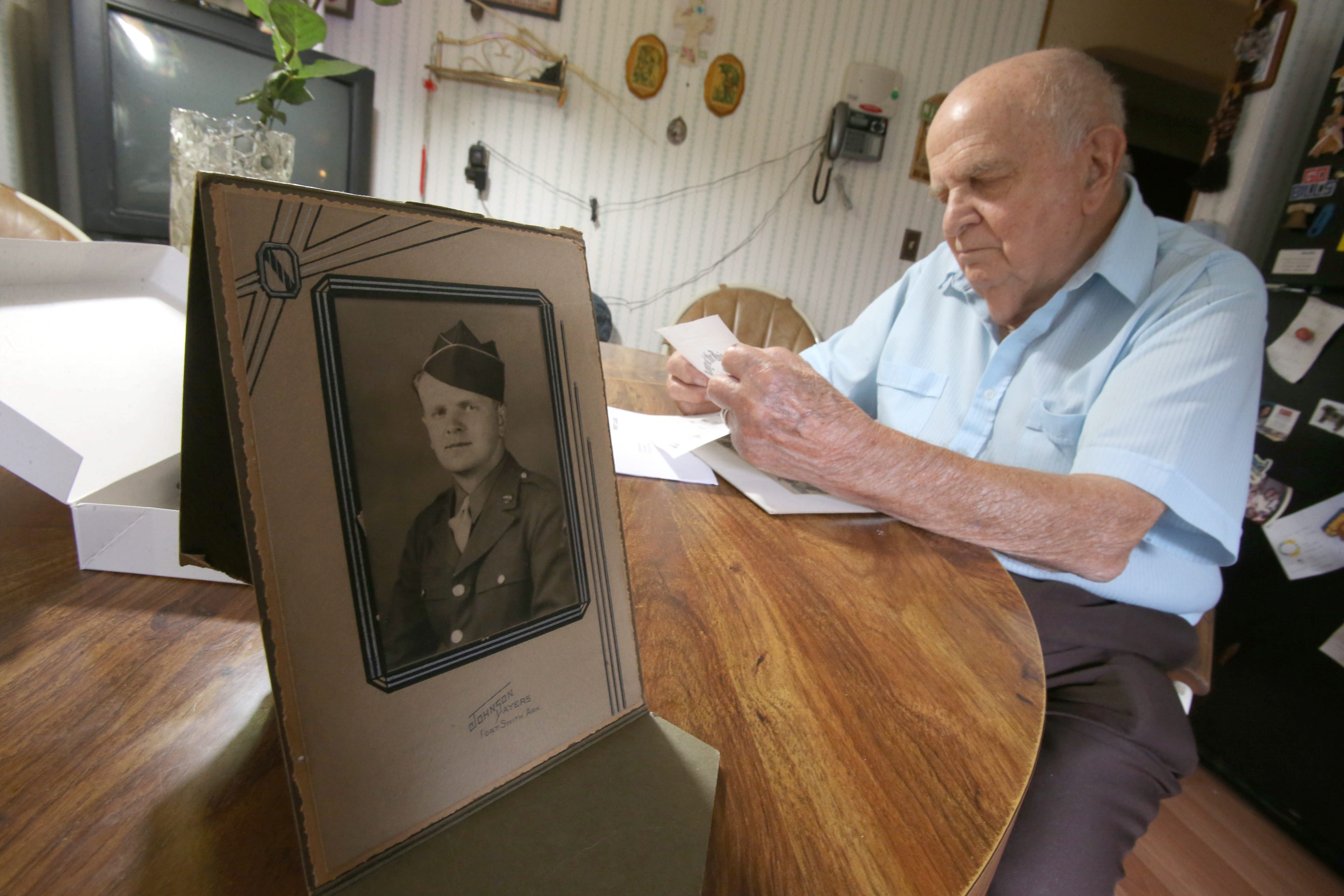 Joseph C. Kasprzak recalls going from work at his family's grocery store to some of WWII's most harrowing combat.