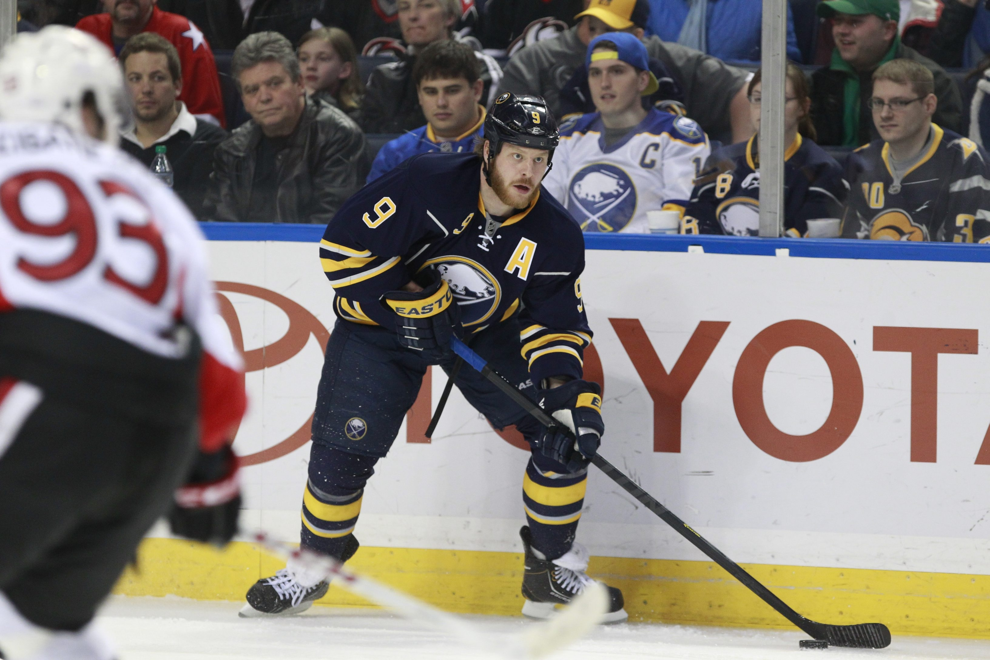 """Sabres co-captain Steve Ott says the team needs to improve its execution. """"It's one guy or everybody, it's everybody continuing to push the game plan,"""" he said.  Harry Scull Jr./Buffalo News"""