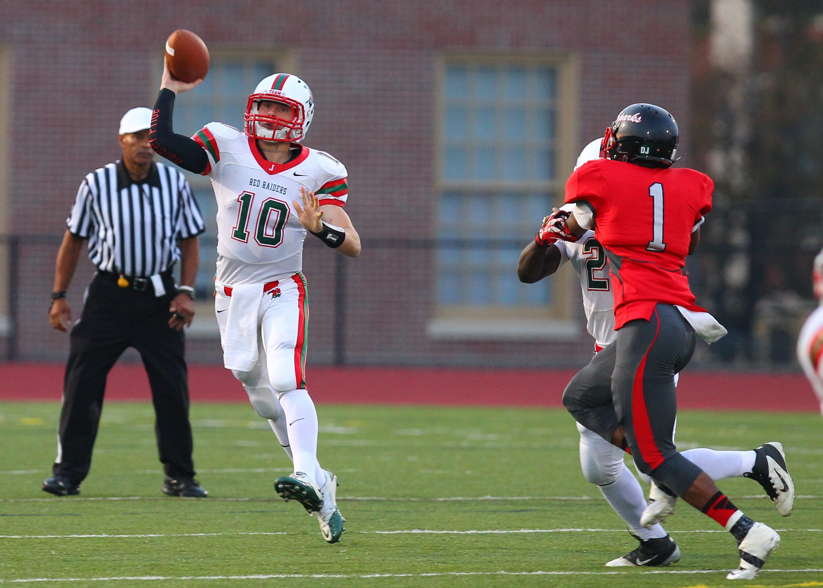 Quarterback Jacob Sisson has directed Jamestown to more than 50 points in every game.