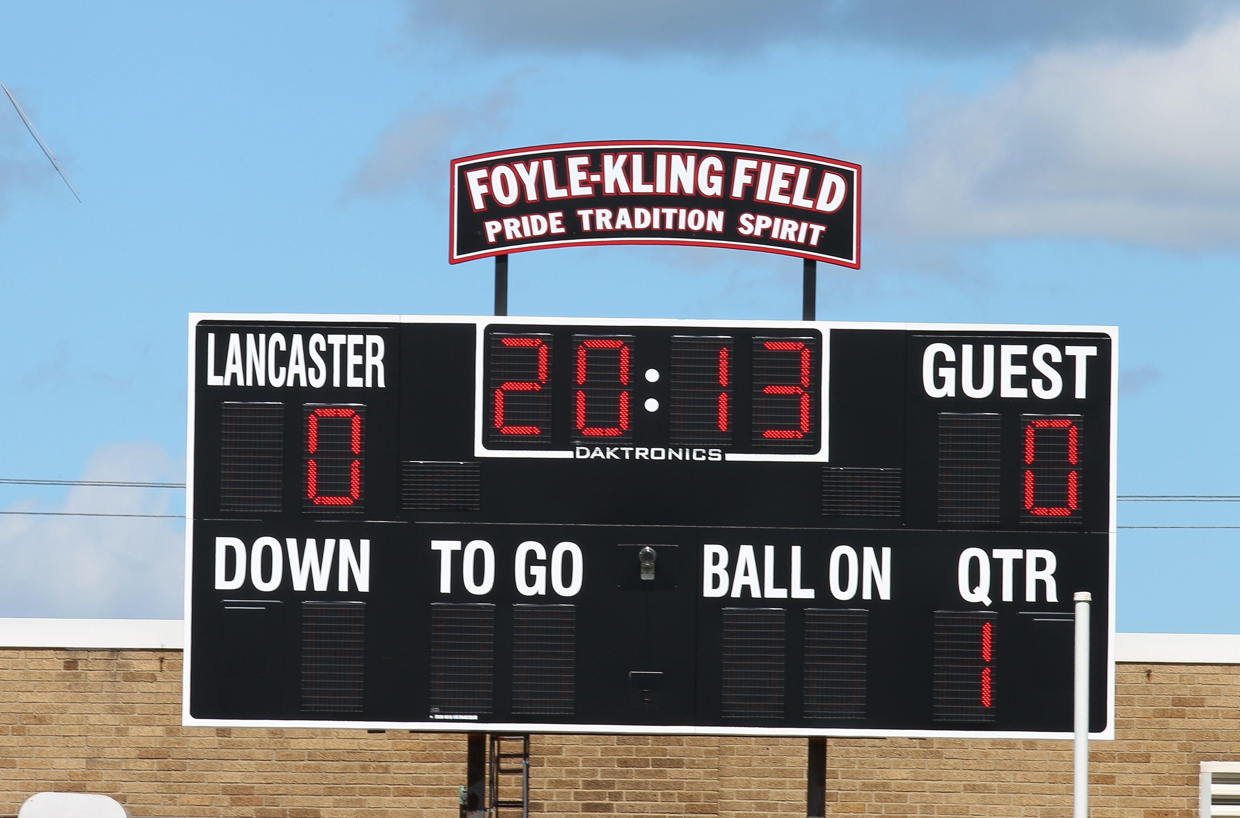 John Hickey/Buffalo News  The great tradition in athletics at Lancaster High School won't be altered by a name change.