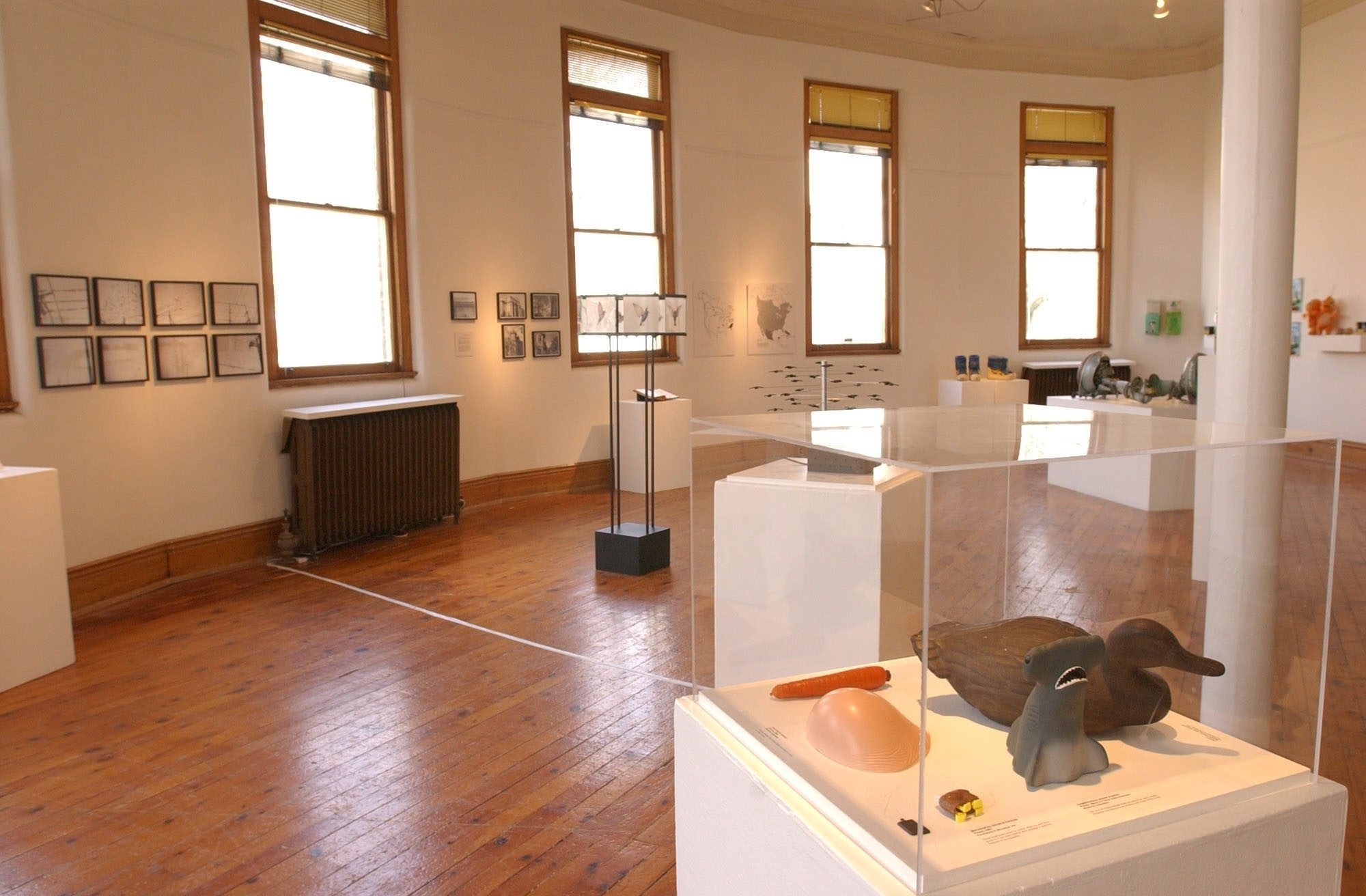 Work at North Tonawanda's Carnegie Arts Center, which will be funded by U.S. block grants, will allow easier access to displays in the Rotunda Gallery.