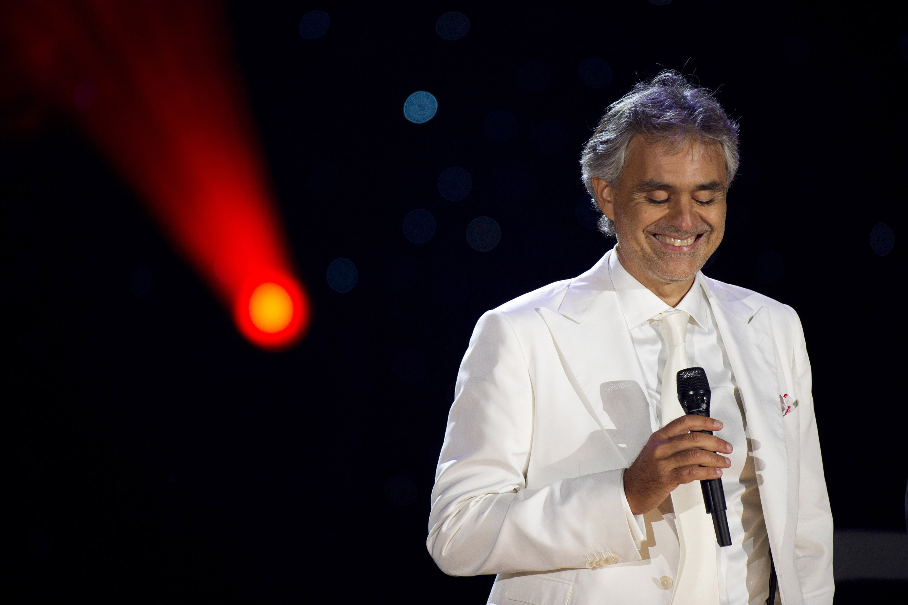 Andrea Bocelli's master's thesis discusses the value and meaning of opera at the beginning of the third millennium.