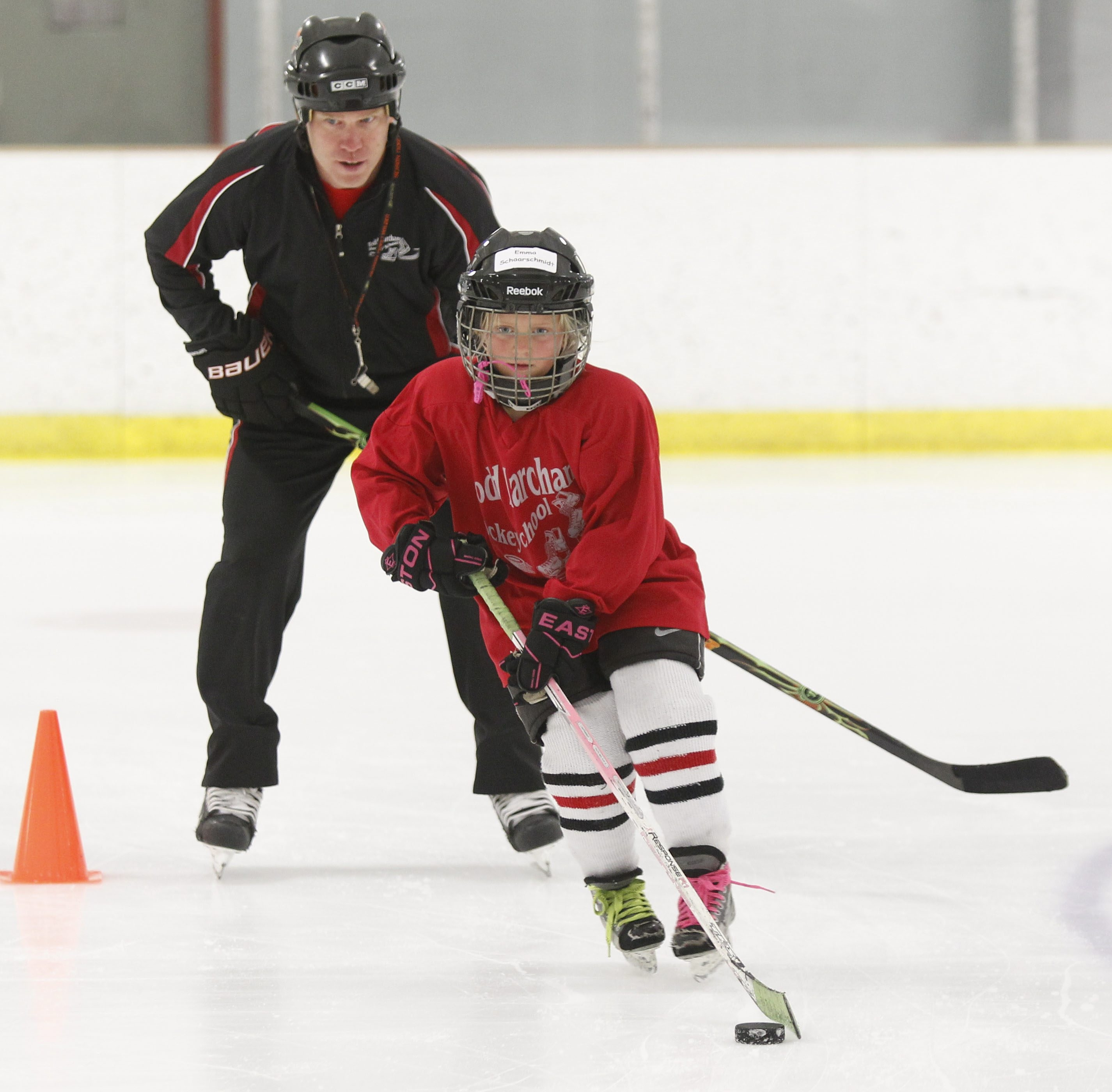 Todd Marchant works with young hockey players every summer at his camp at the Northtown Center at Amherst.