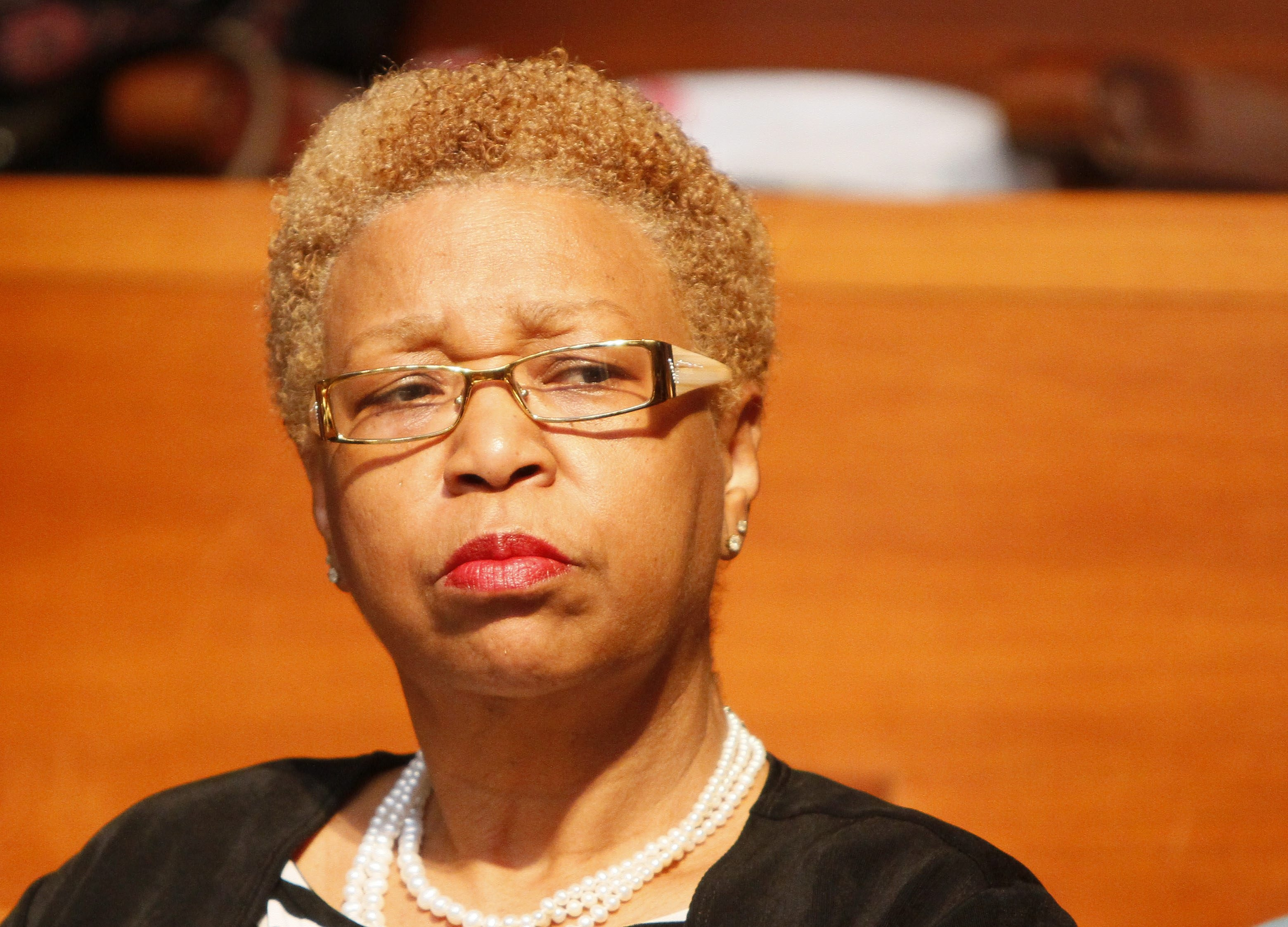 Consultant Mary Guinn's $290,359 salary was a point of controversy for the Buffalo Public Schools.