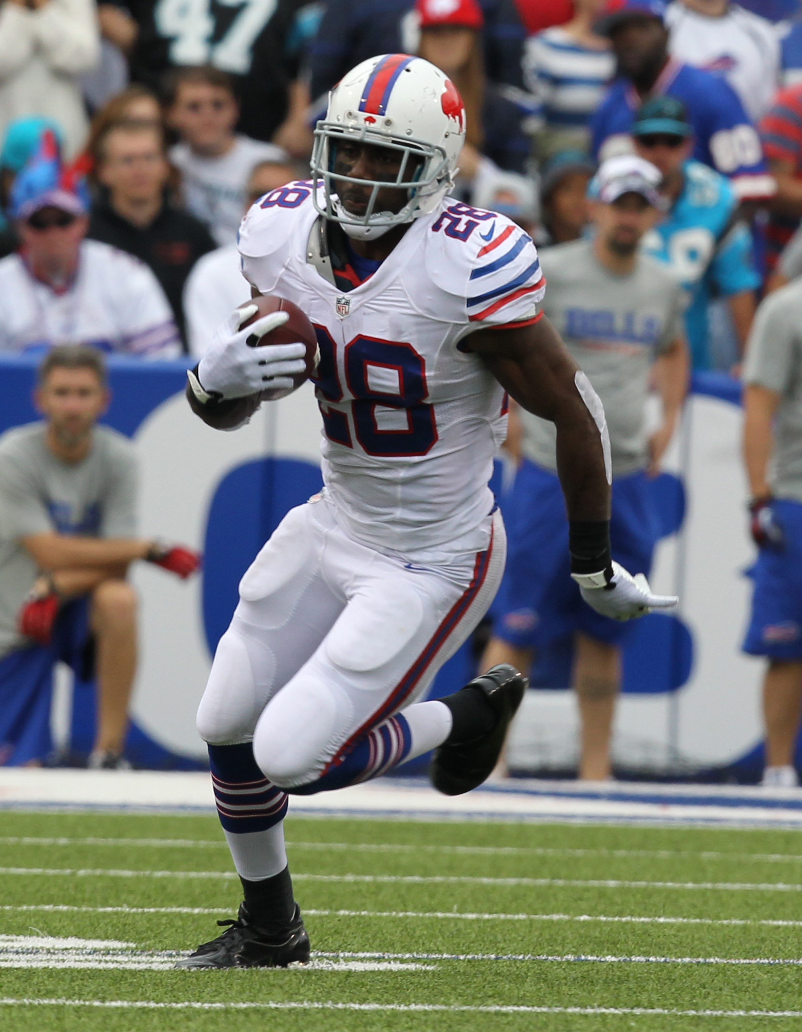 Fans who aren't going to the game Sunday might just get the chance to see Buffalo Bills running back C.J. Spiller and the rest of the team play the Cincinnati Bengals on Sunday.