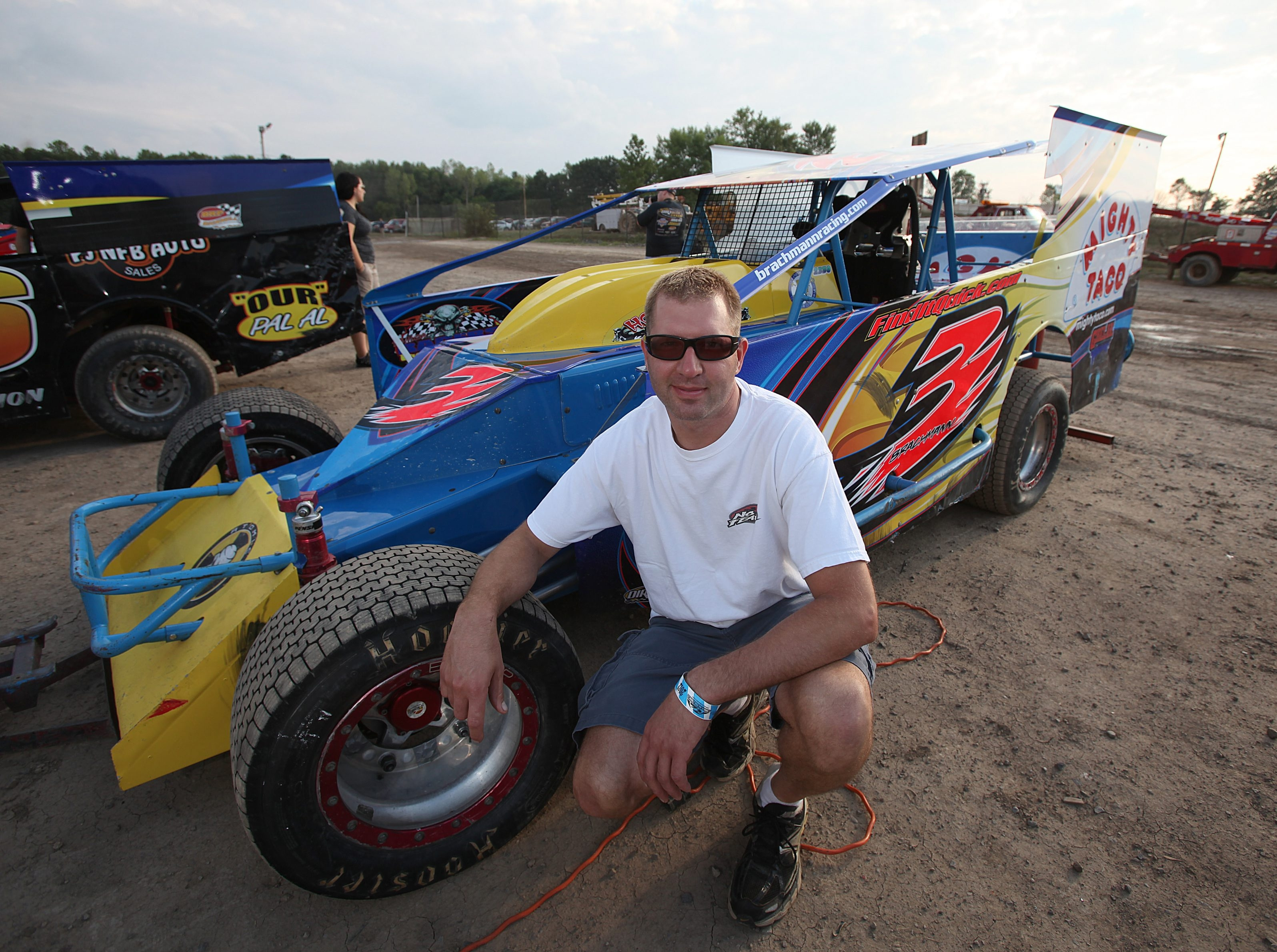 Driver Chad Brachmann has secured starting spots in two races at Super DIRT Week.