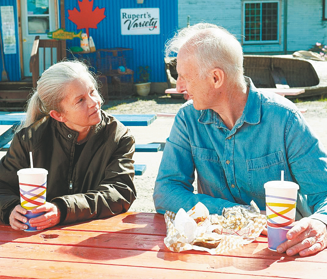 "James Cromwell and Genevieve Bujold play husband and wife in ""Still Mine."""